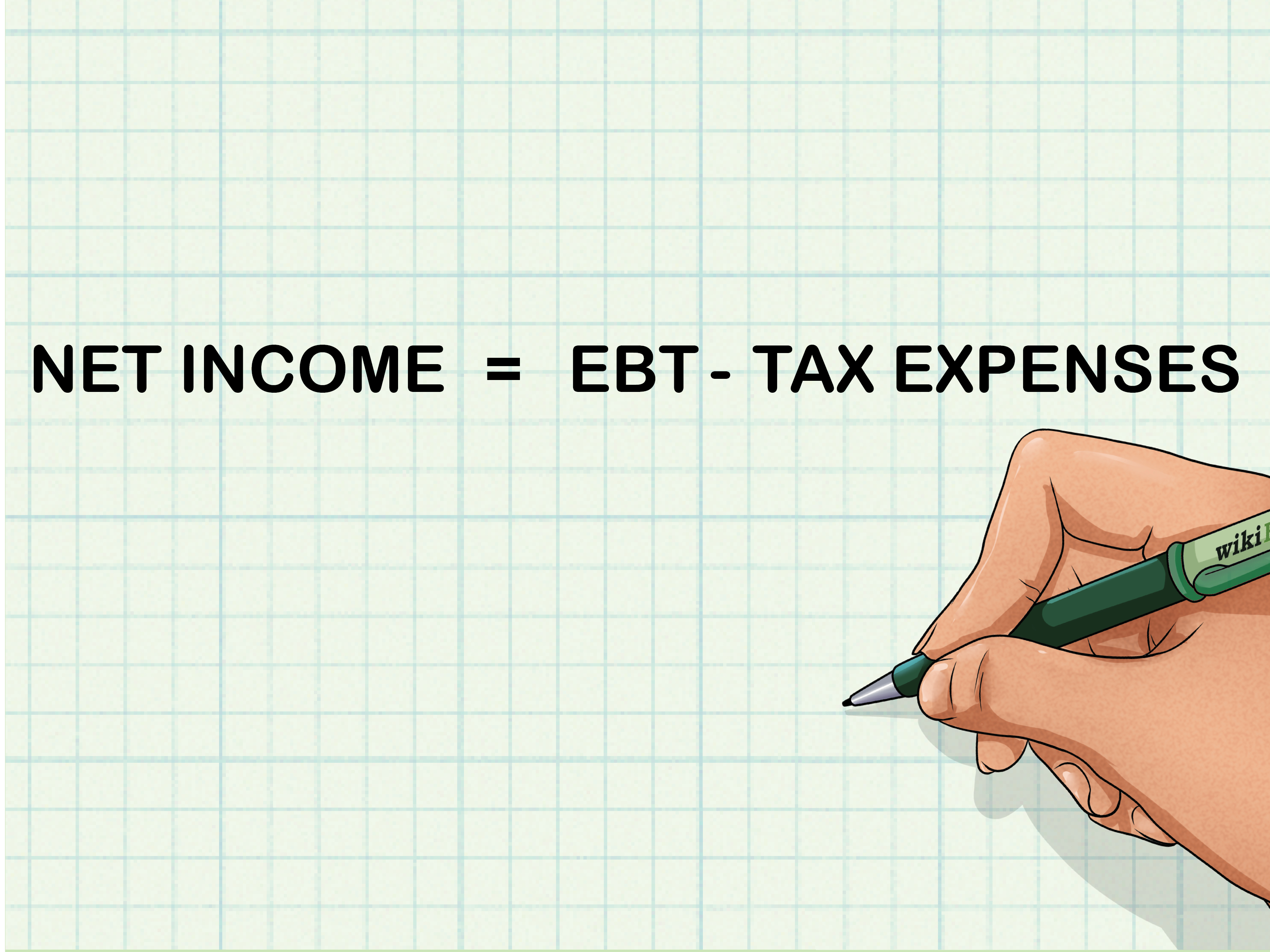 Accounting Equation Calculate Net Income
