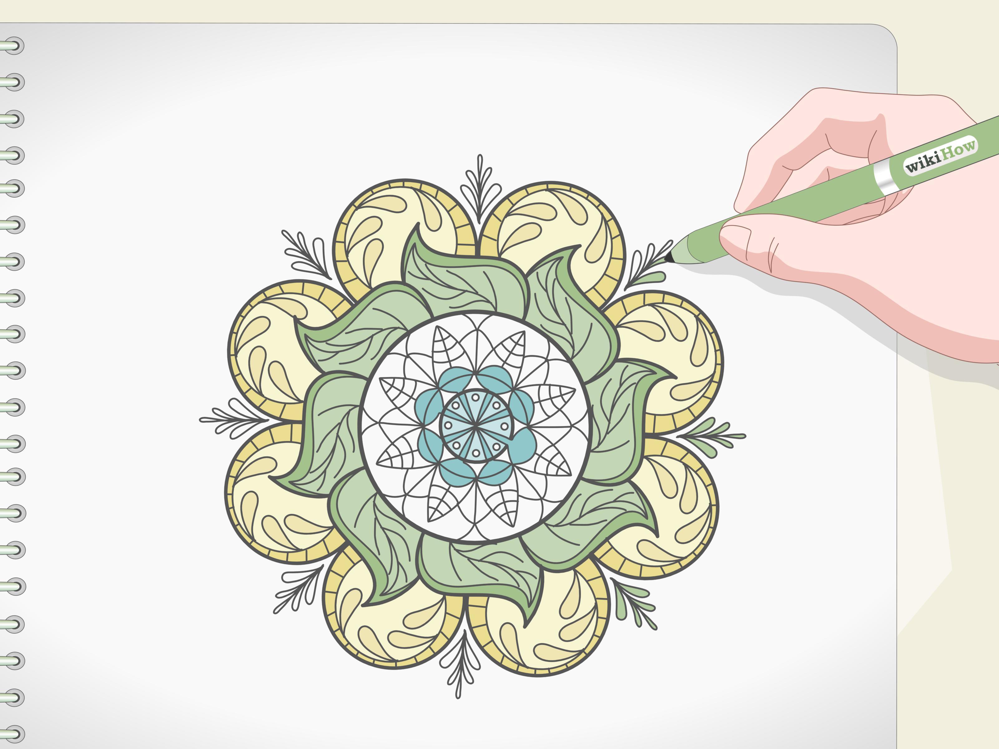 3 Ways To Draw A Mandala