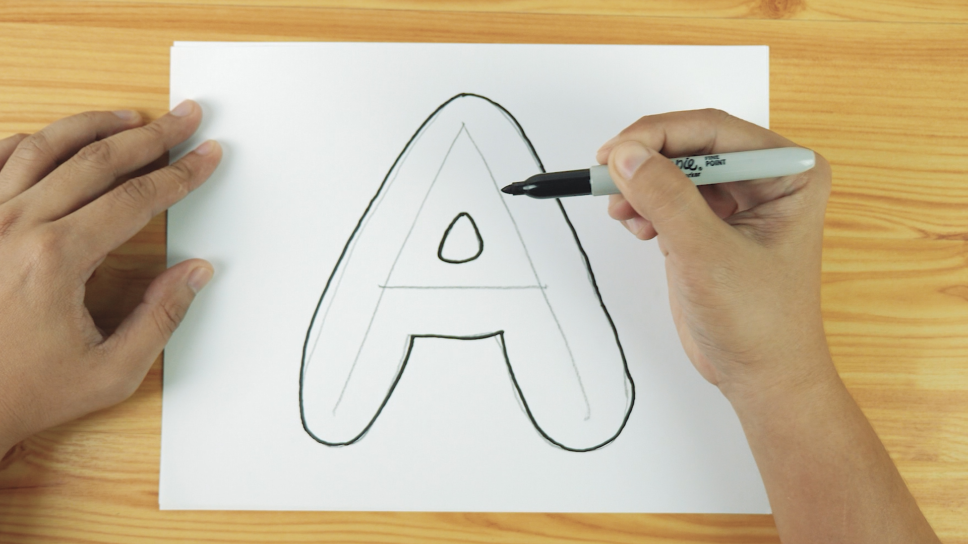 3 Ways To Draw Bubble Letters Wikihow