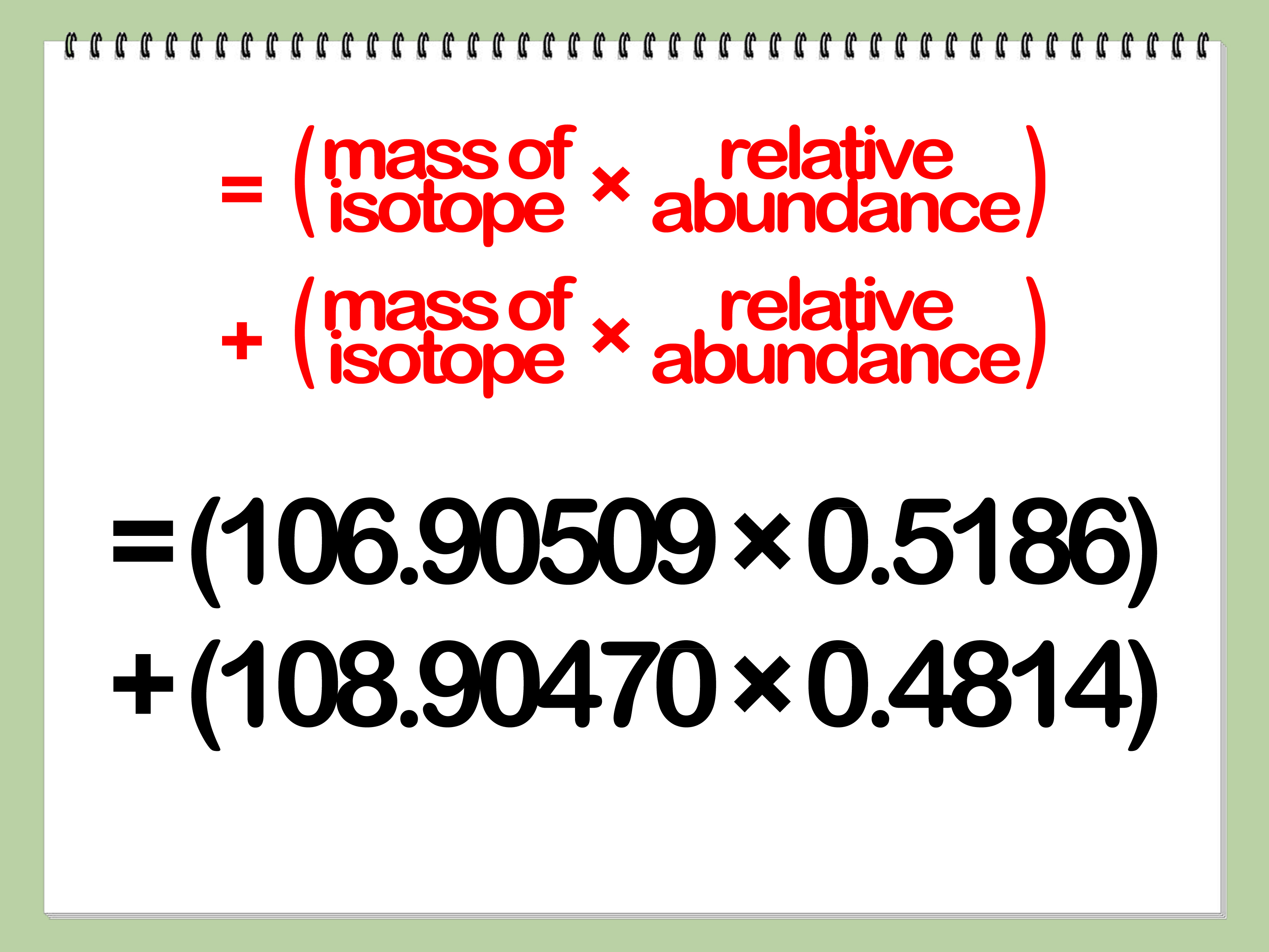 How To Find Average Atomic Mass 8 Steps
