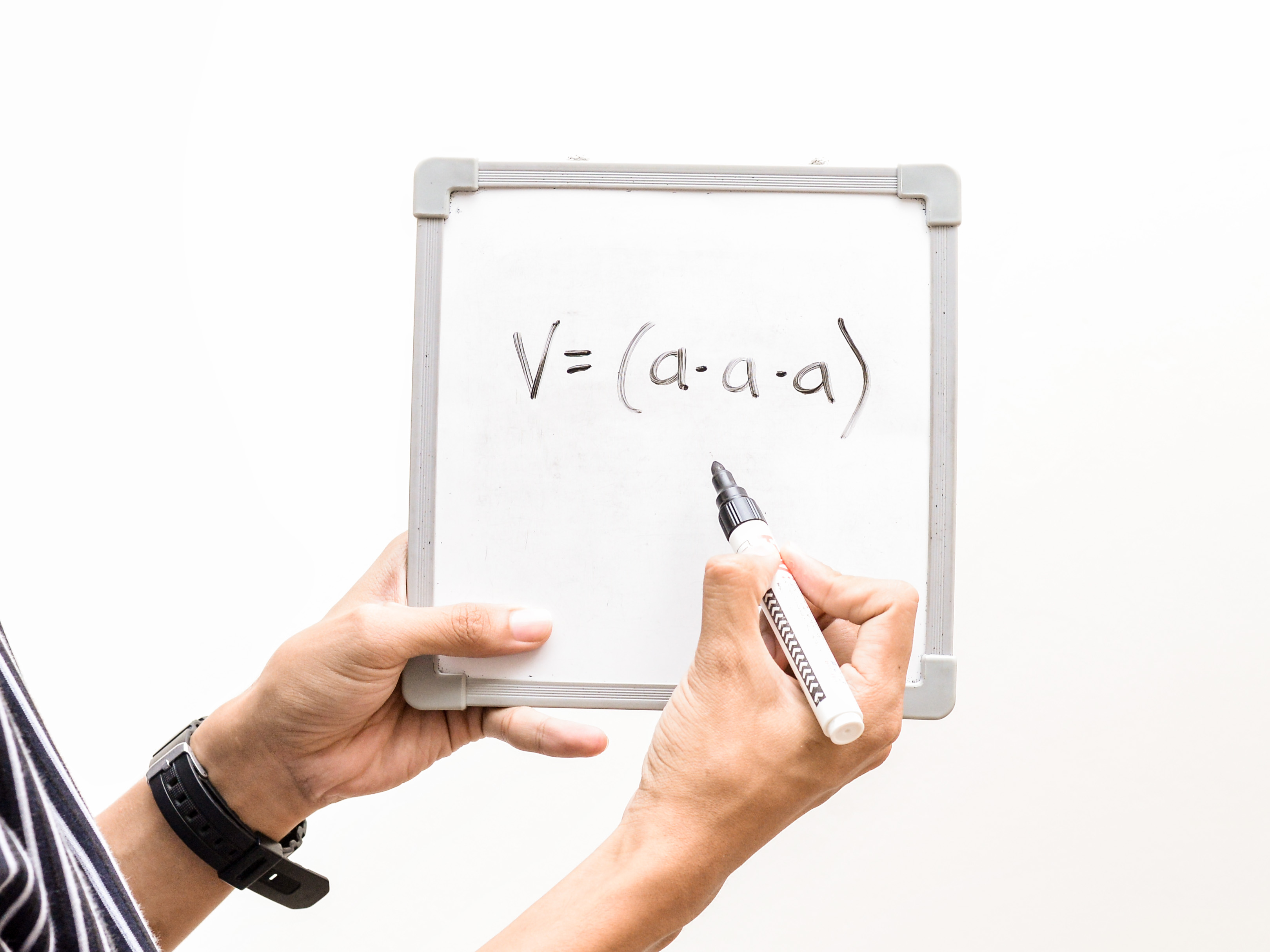 How To Find The Surface Area And Volume Of A Cube 3 Steps