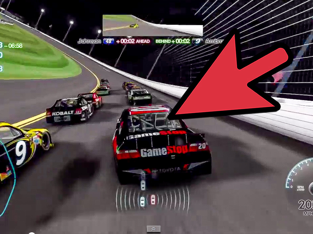 How To Win The Budweiser Shootout In Nascar 07 8 Steps