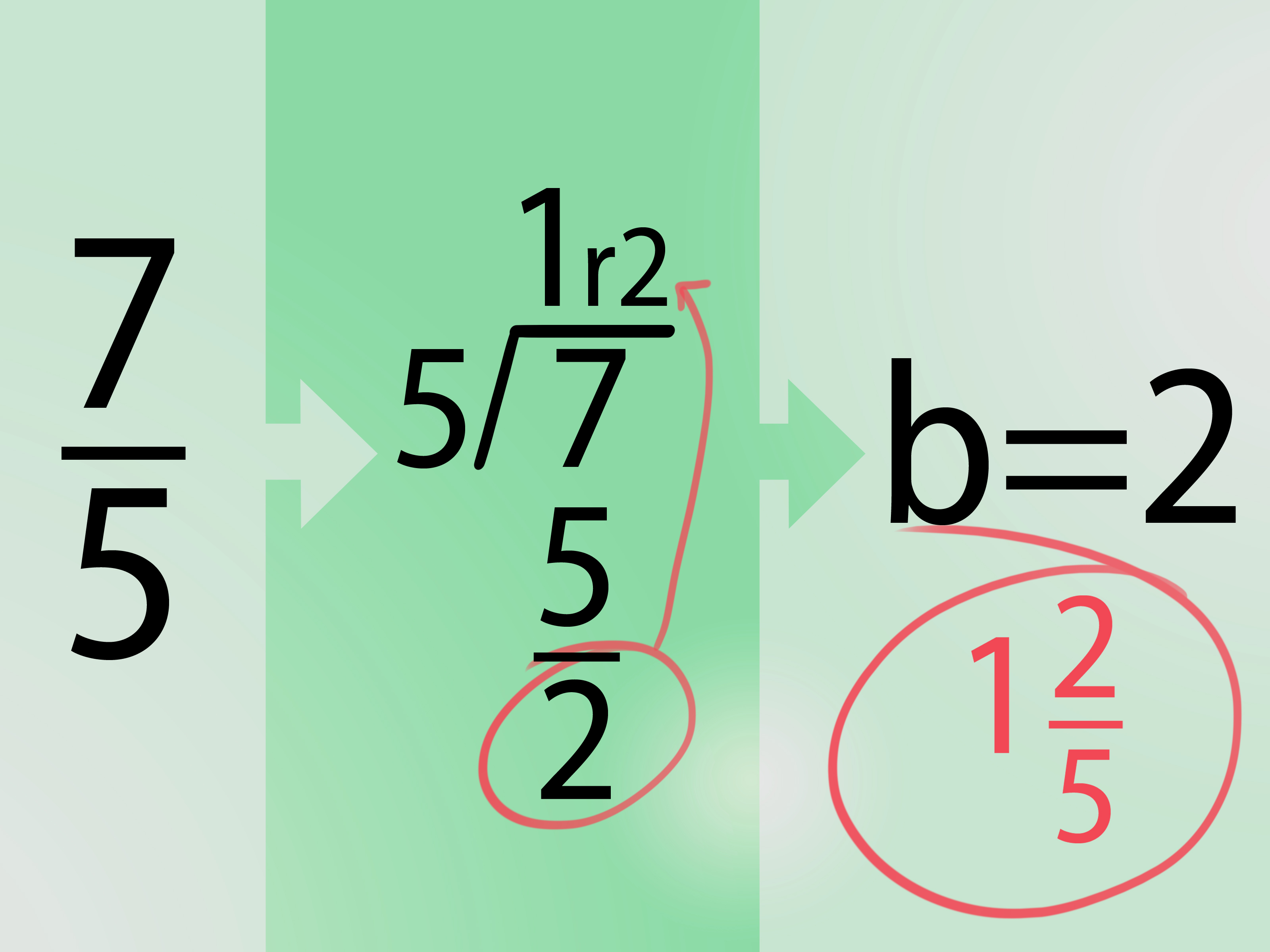 How To Change Mixed Numbers To Improper Fractions 10 Steps