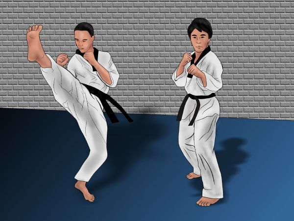 3 Ways to Win in Competitive Sparring (Taekwondo) - wikiHow