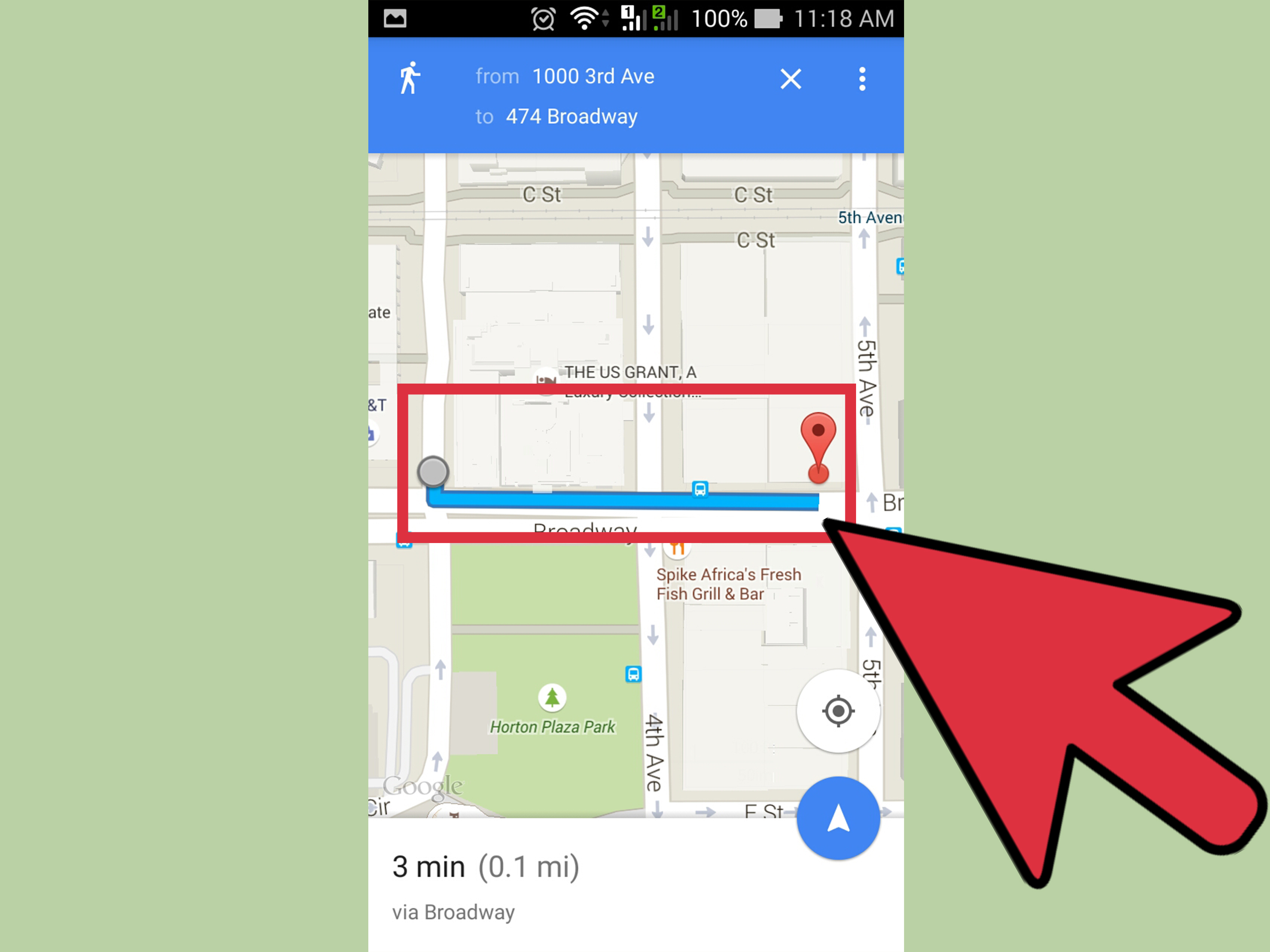 How To Get Walking Directions On Maps 12 Steps