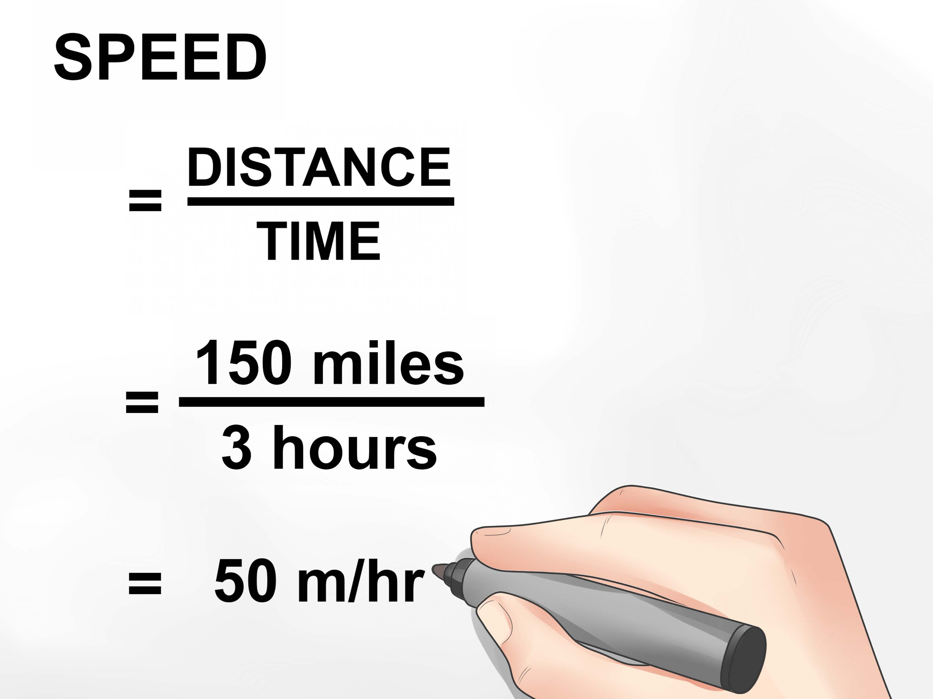 Calculate Speed Worksheet