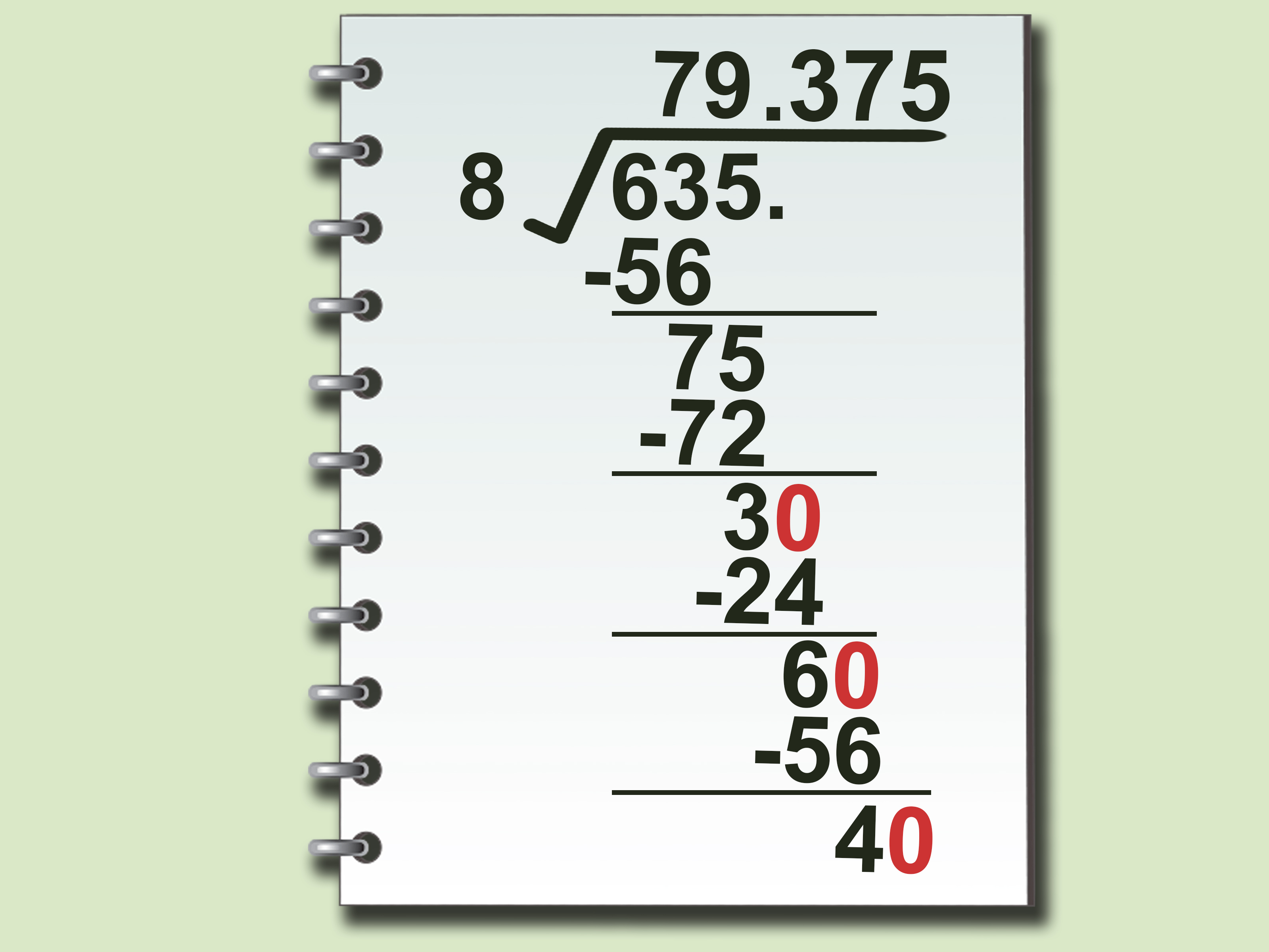 How To Do Long Division Step By Step