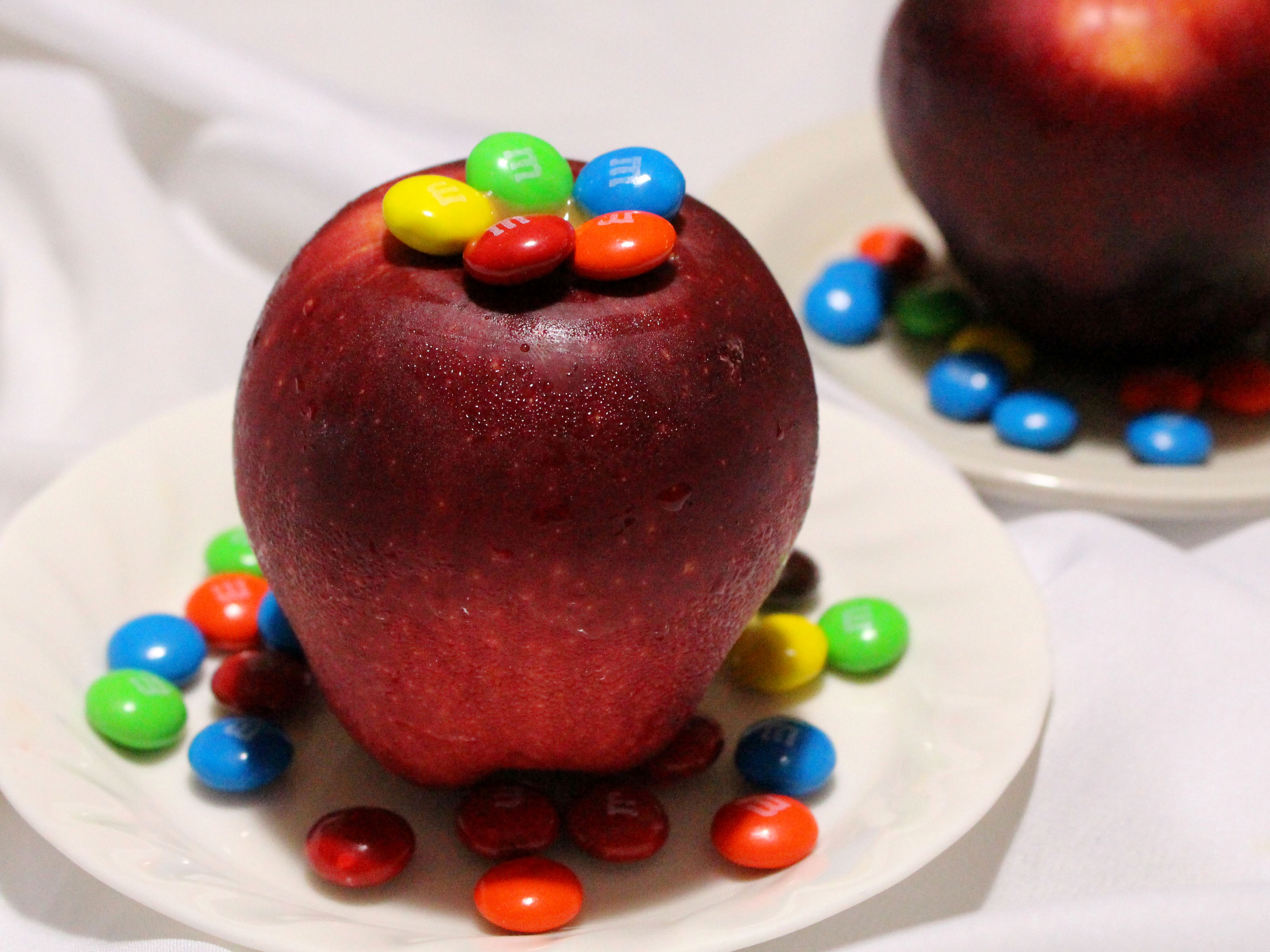 How To Make An Apple Volcano 4 Steps With Pictures