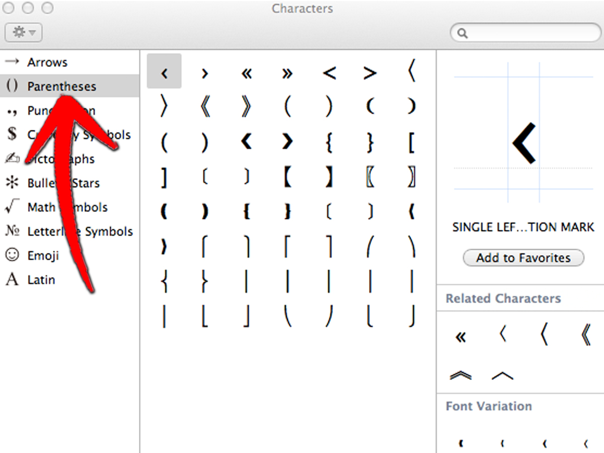 How To Create Curly Brackets On An Azerty Keyboard Mac