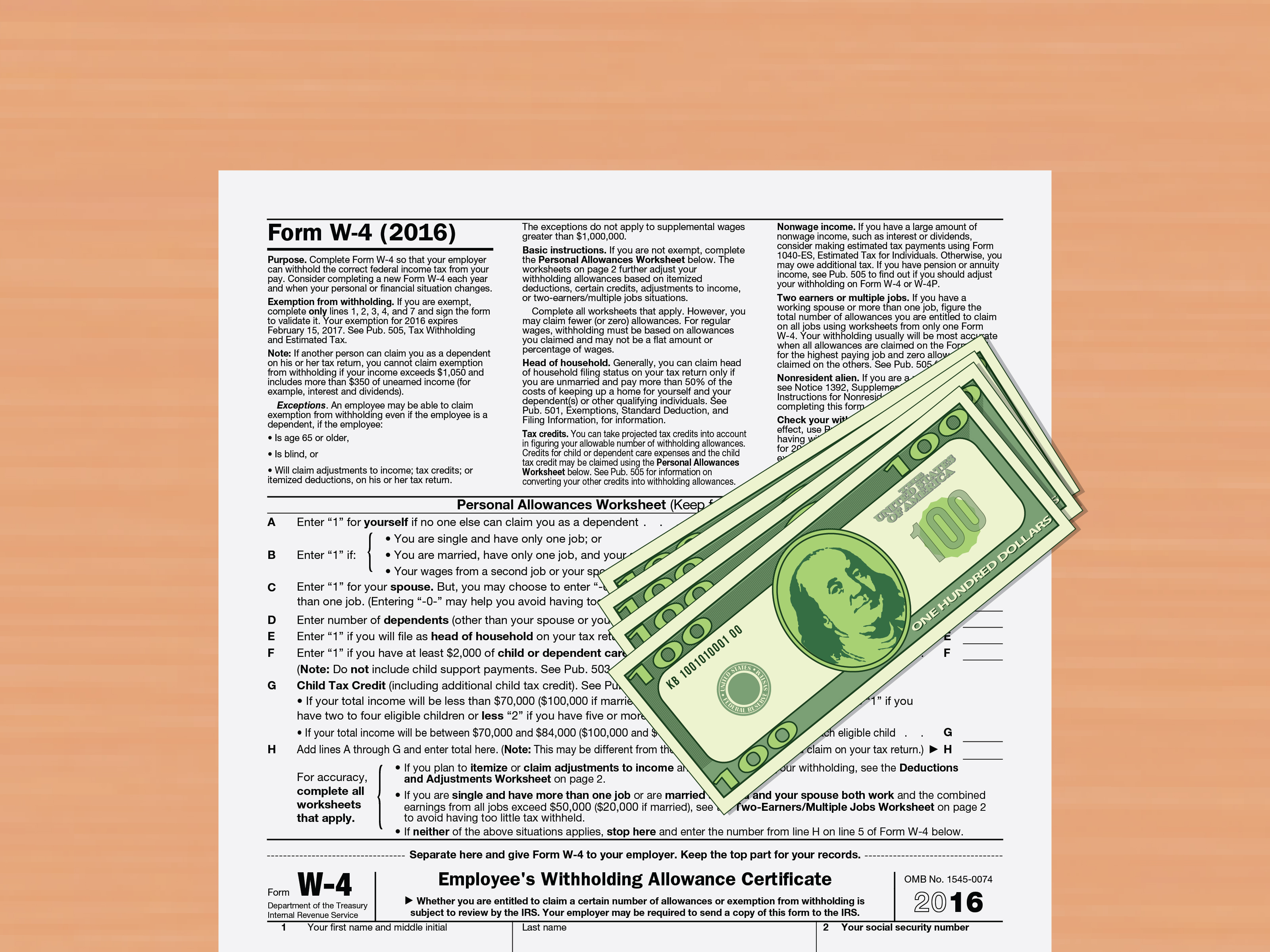 Social Security Expenses Worksheet