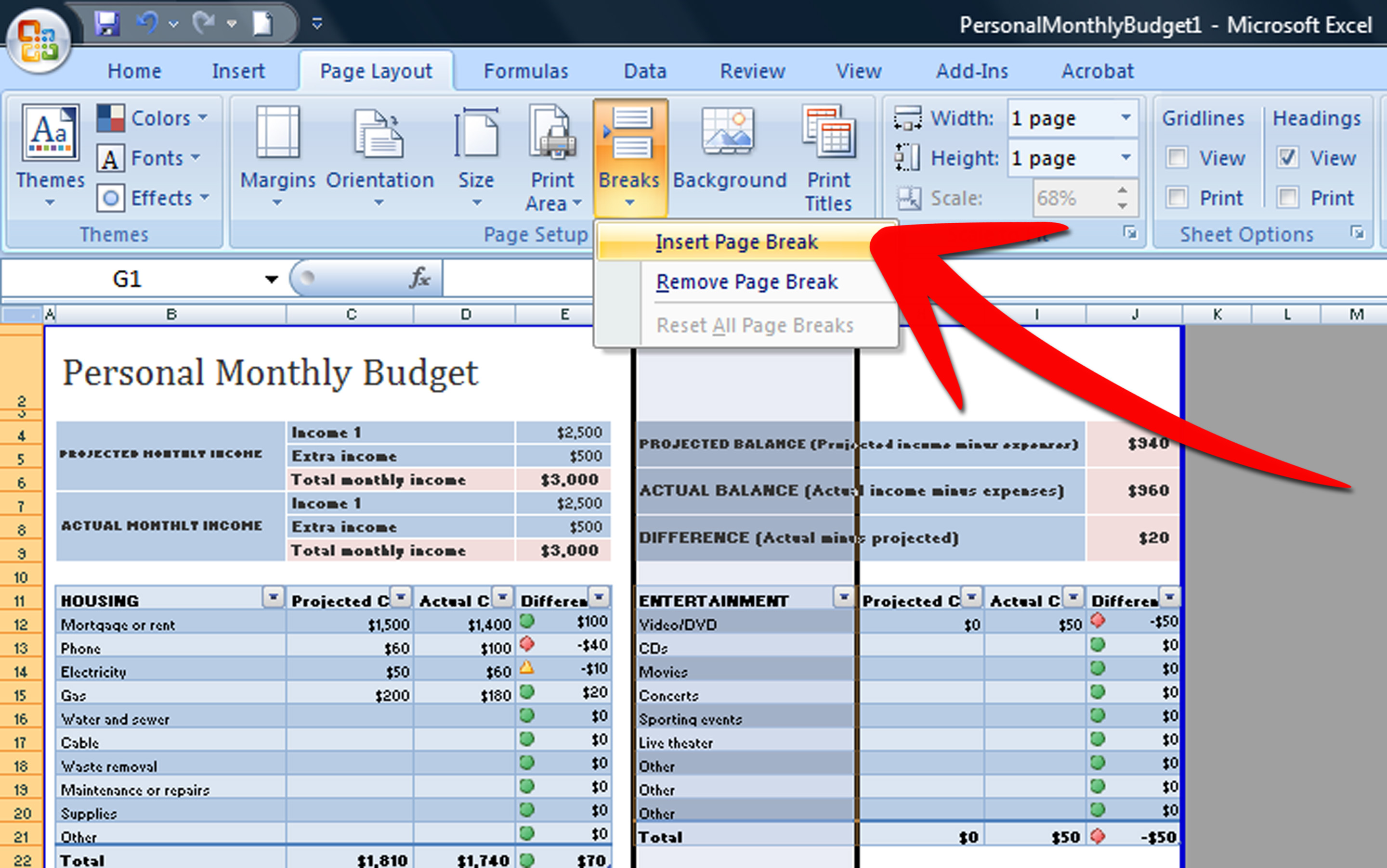 Excel Worksheet Tabs Multiple Rows