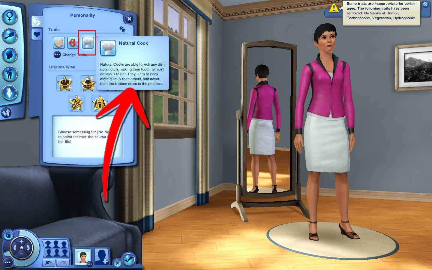 How To Understand Traits In Sims 3 4 Steps With Pictures