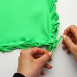 4 Ways To Make A Fleece Blanket Wikihow