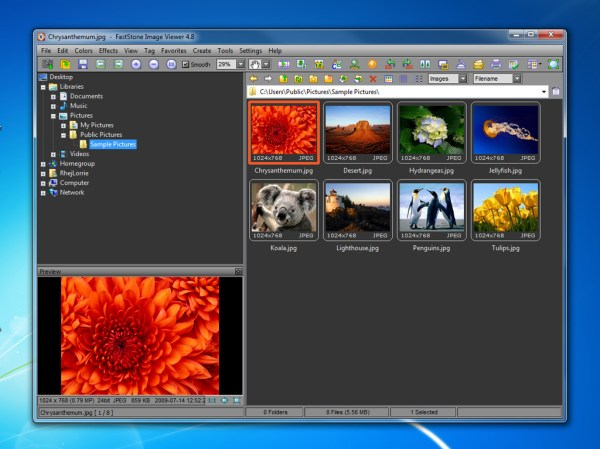 How to Change Skins on FastStone Image Viewer 3 Steps