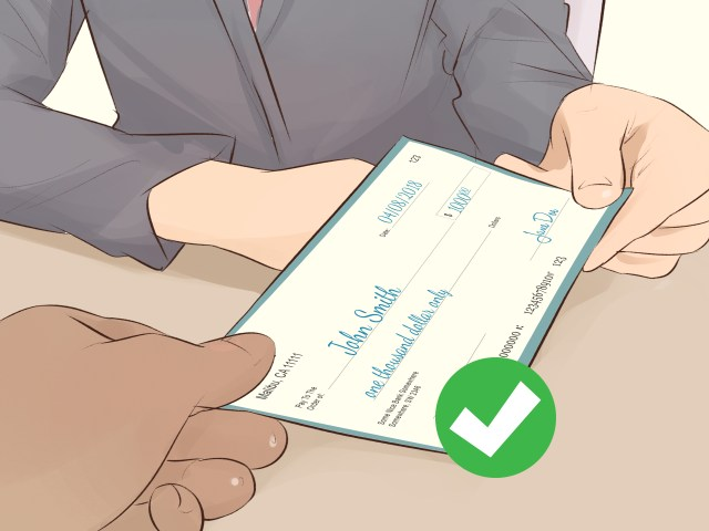 30 Ways to Endorse a Check - wikiHow