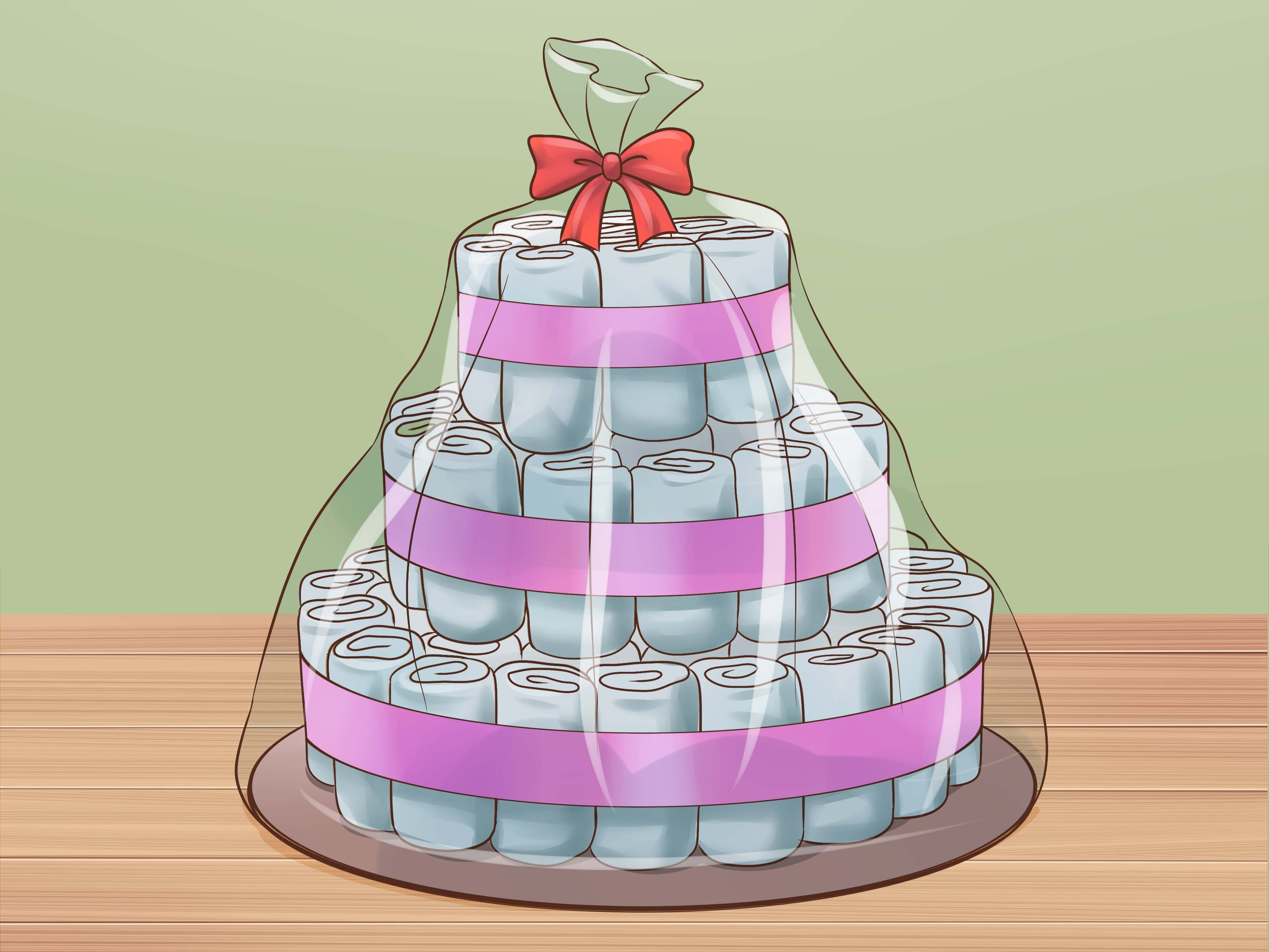 The Best Ways To Make A Diaper Cake