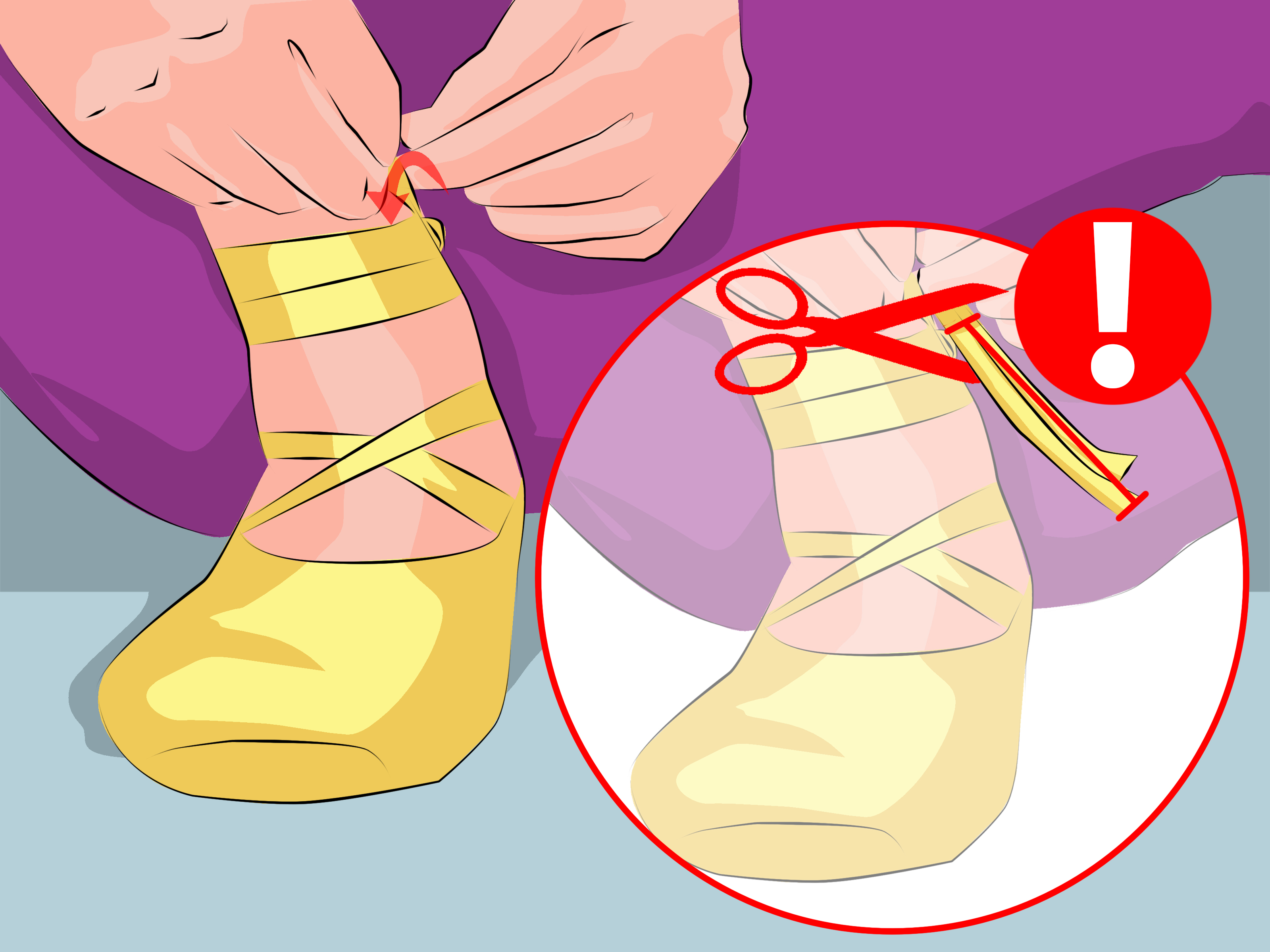 How To Tie Pointe Shoes 6 Steps With Pictures