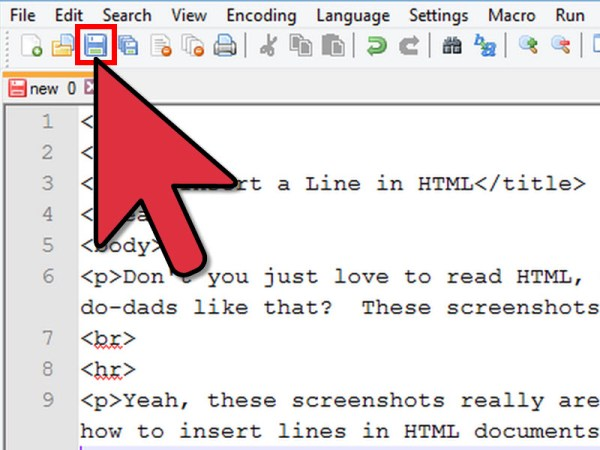 How to Insert a Line in HTML: 7 Steps (with Pictures ...