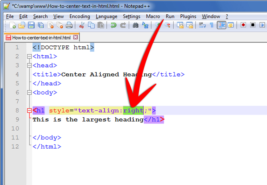 How To Center Text In HTML 9 Steps With Pictures WikiHow