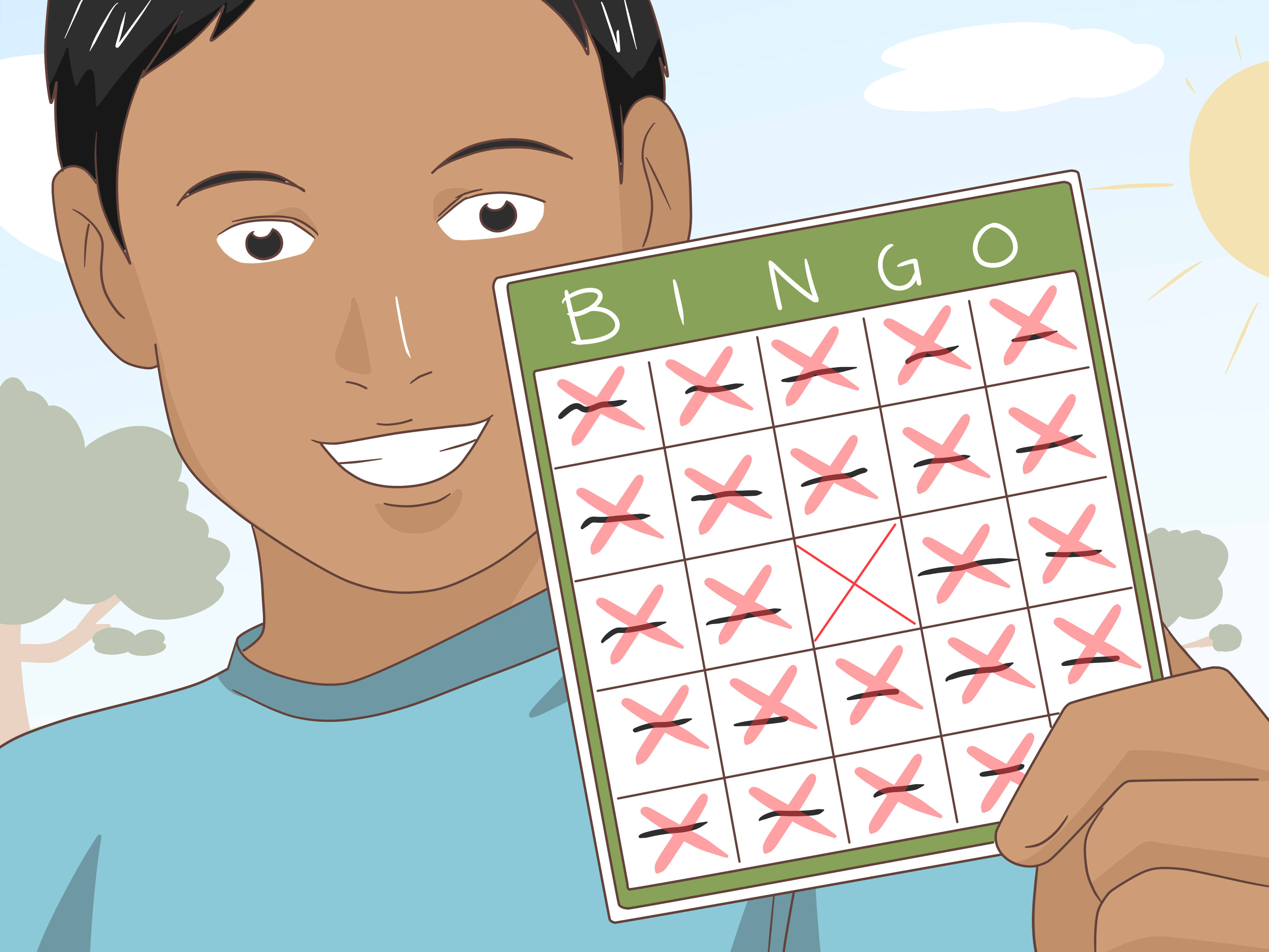 How To Make An Opposite Themed Bingo Game 6 Steps With Pictures