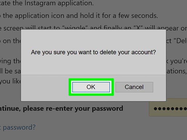 How to Delete an Instagram Account (with Pictures) - wikiHow