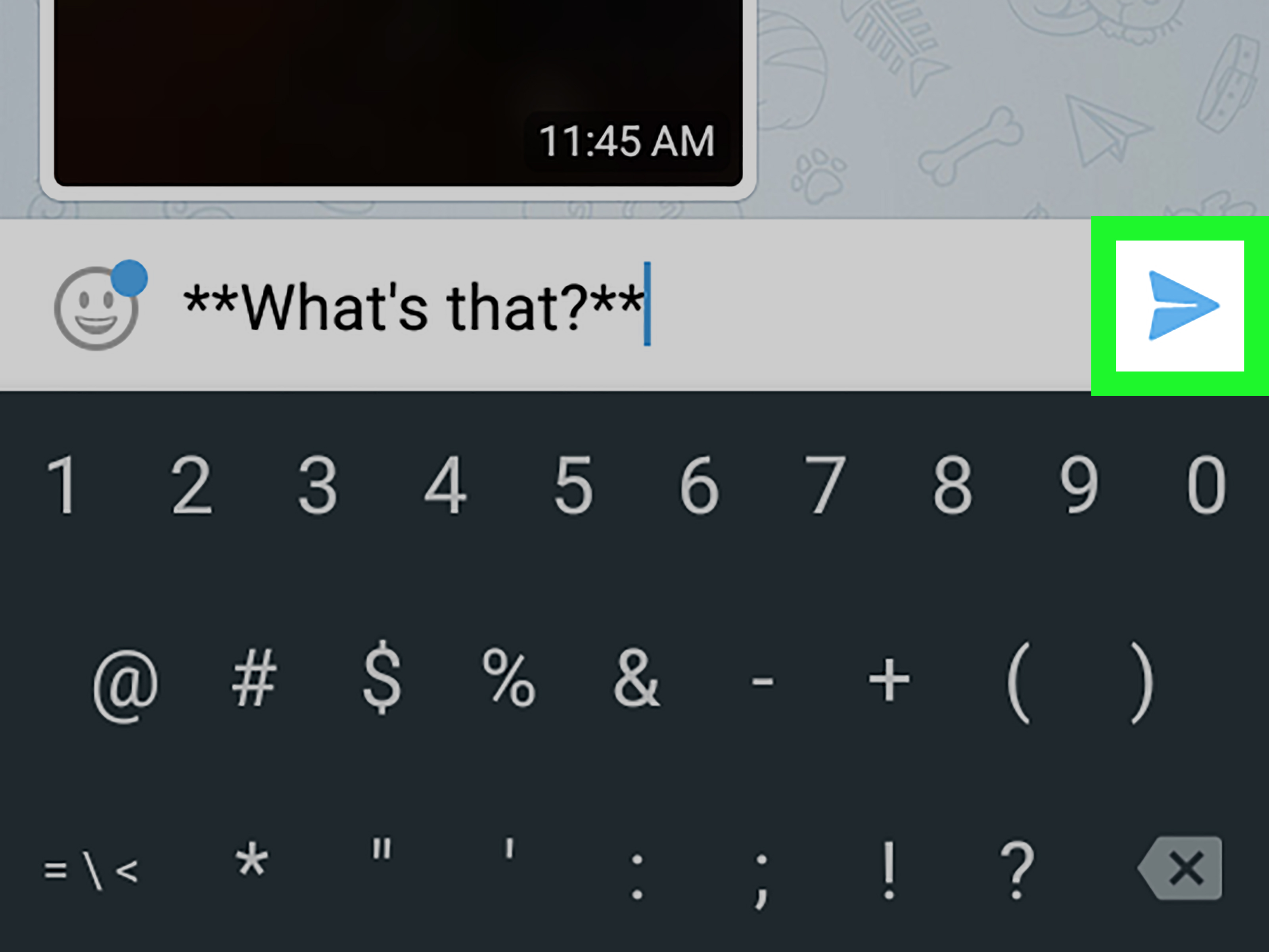 How To Type Bold Text On Telegram On Android 6 Steps