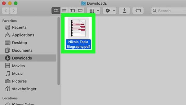 CONVERTIRE I FILE XPS IN PDF