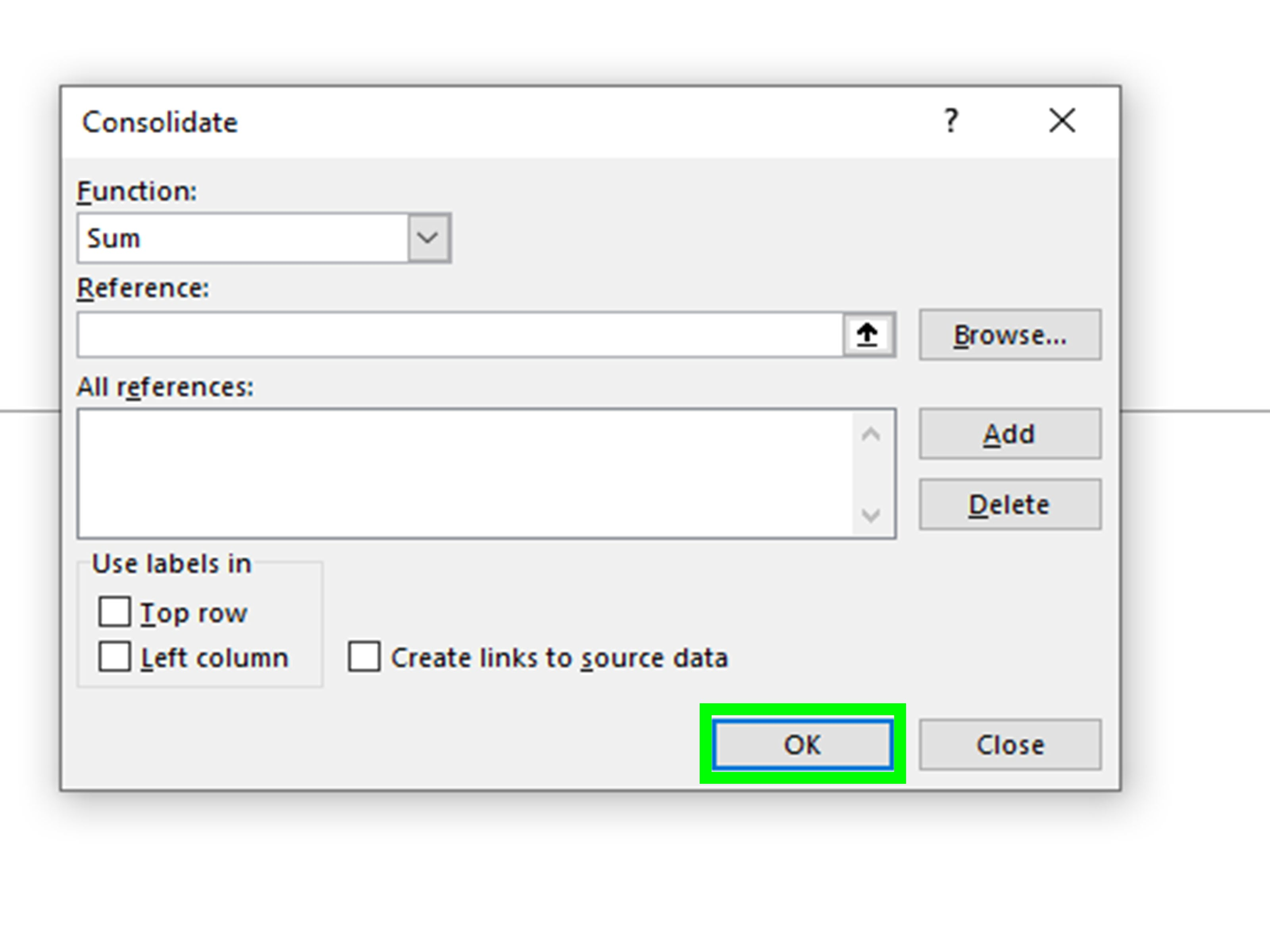 4 Easy Ways To Consolidate In Excel