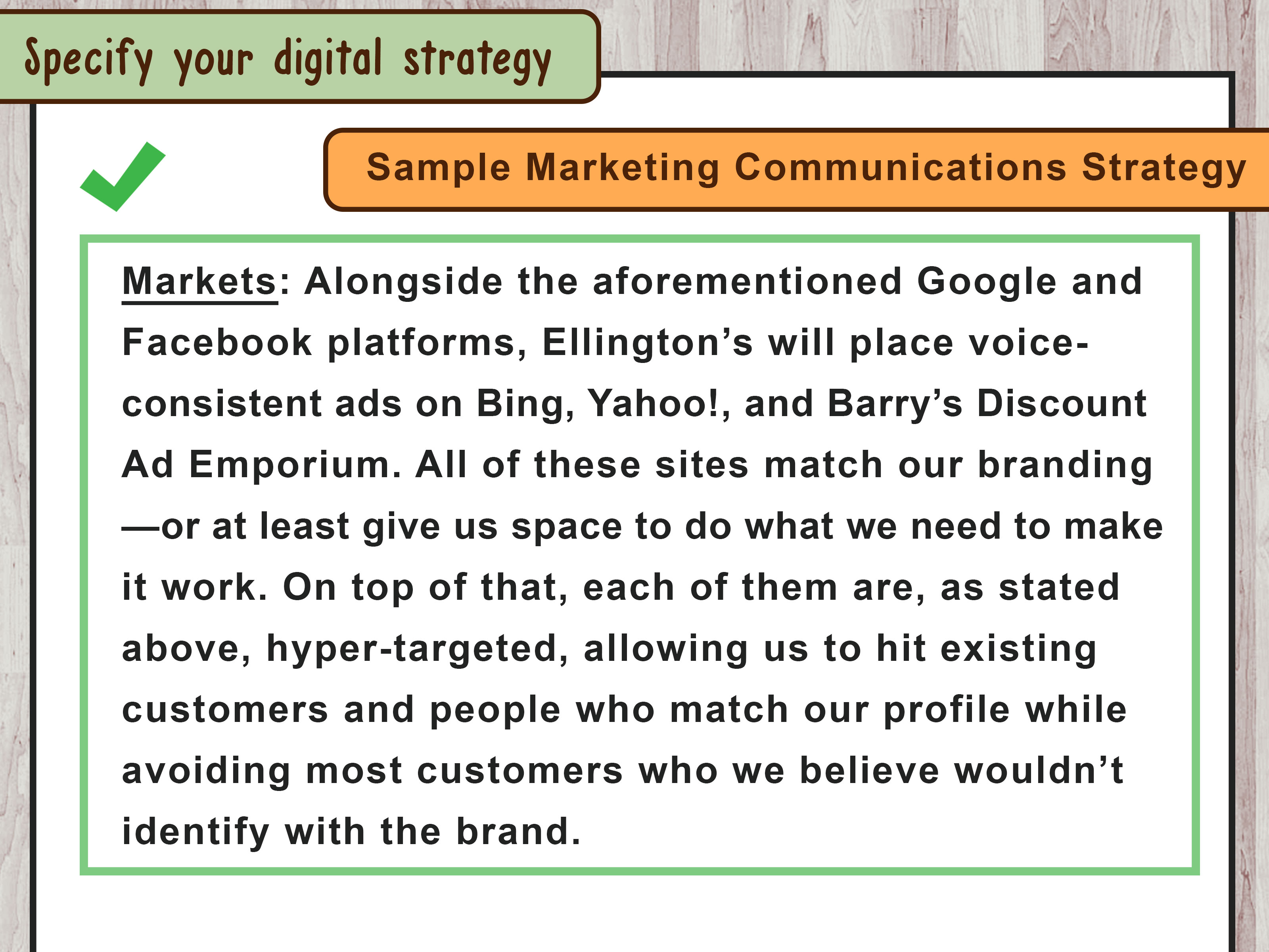 How To Write A Communications Strategy With Sample