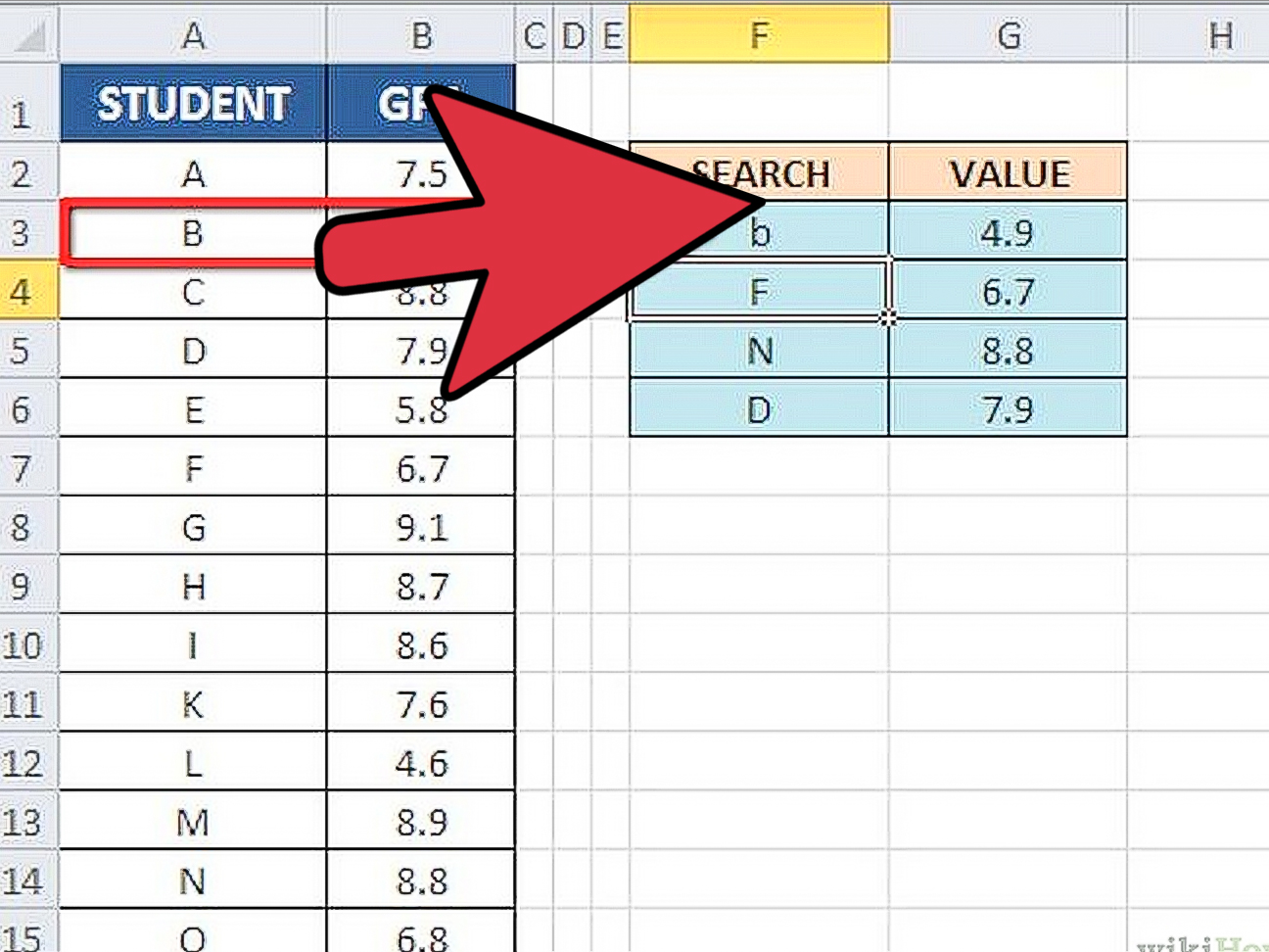 3 Ways To Use Vlookup With An Excel Spreadsheet
