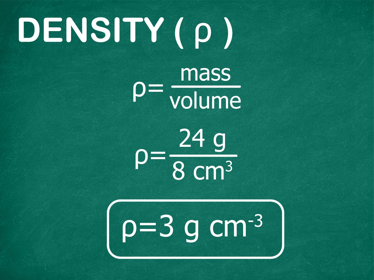How To Calculate Volume And Density 11 Steps With Pictures