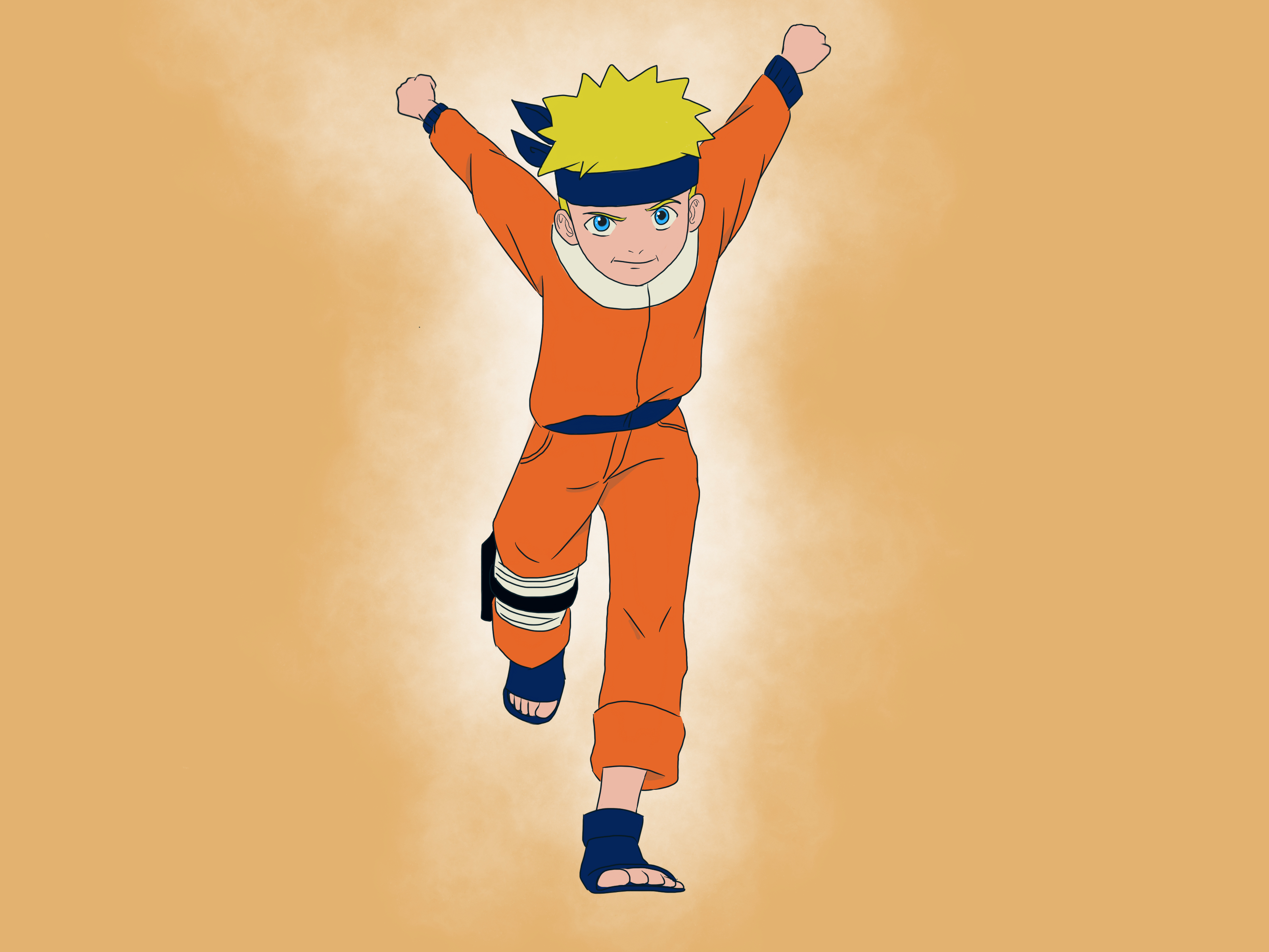How To Run Like Naruto 7 Steps With Pictures