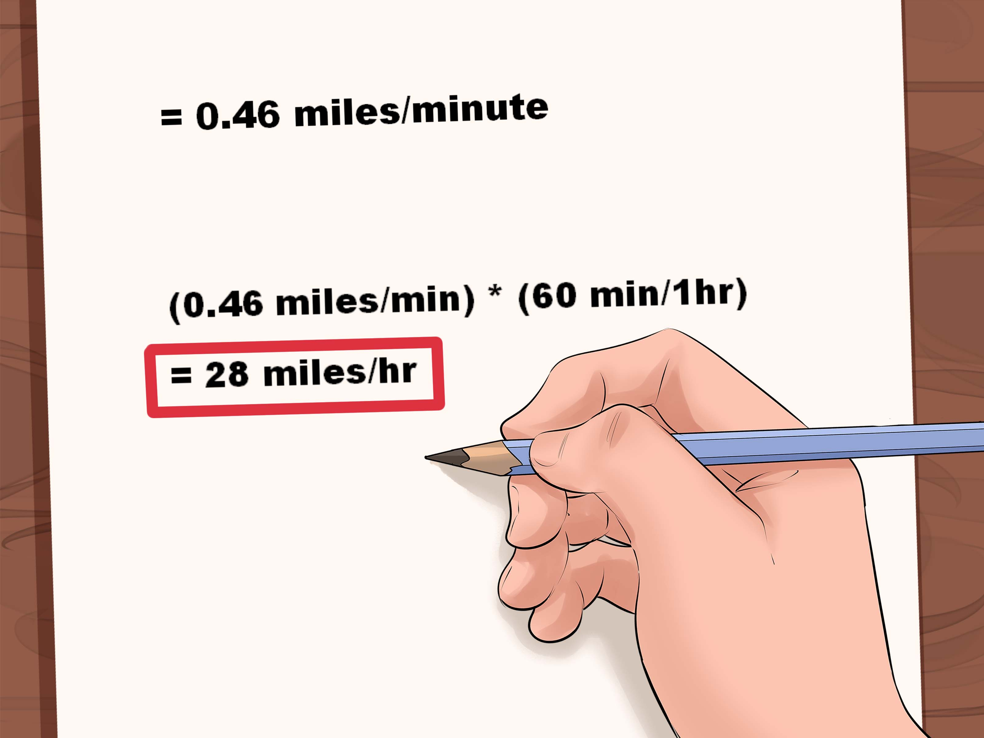 How To Find Speed 8 Steps With Pictures