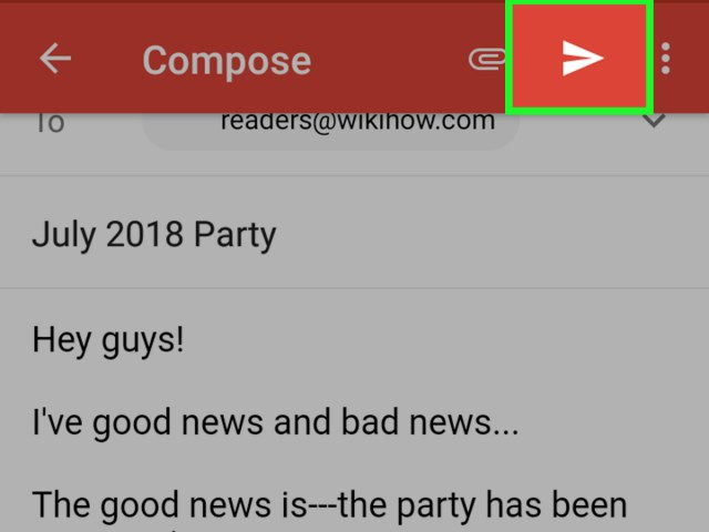 Mit Gmail eine E Mail verschicken: 16 Schritte (mit Bildern) – wikiHow