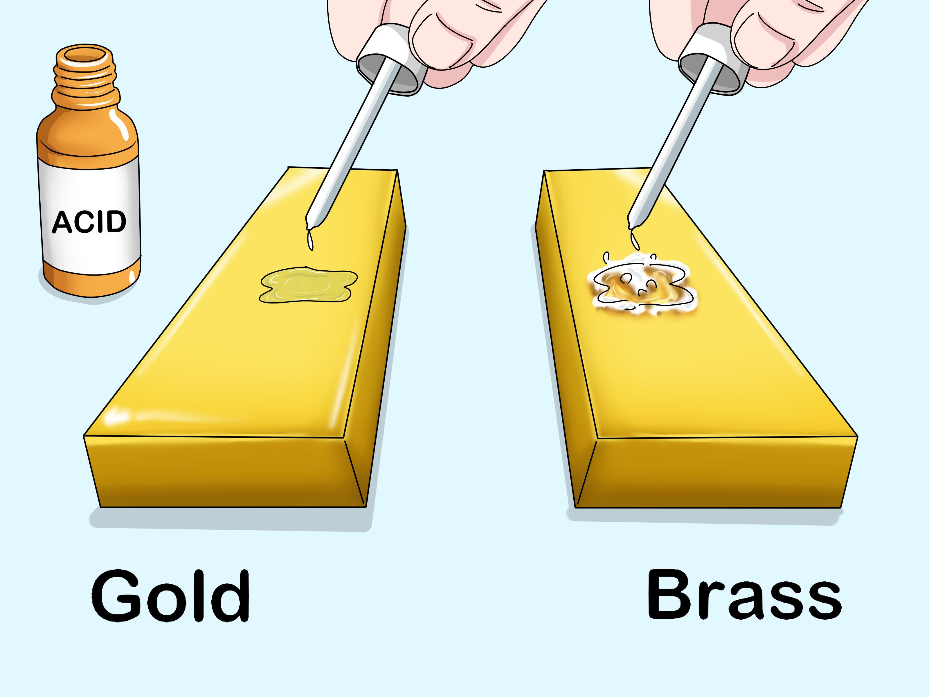 l or et le laiton