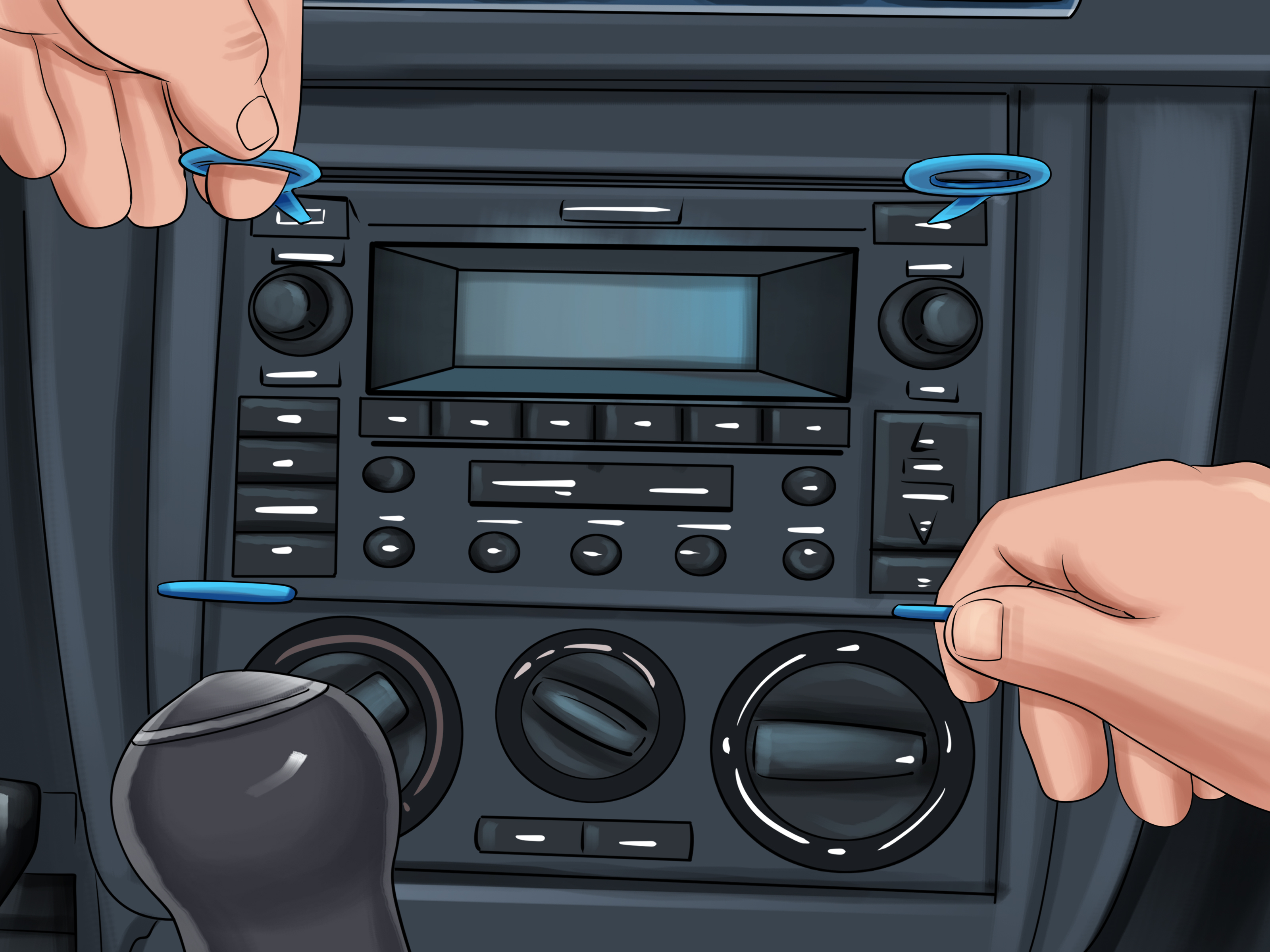 How To Remove The Radio In A 2002 Vw Beetle Tdi 9 Steps