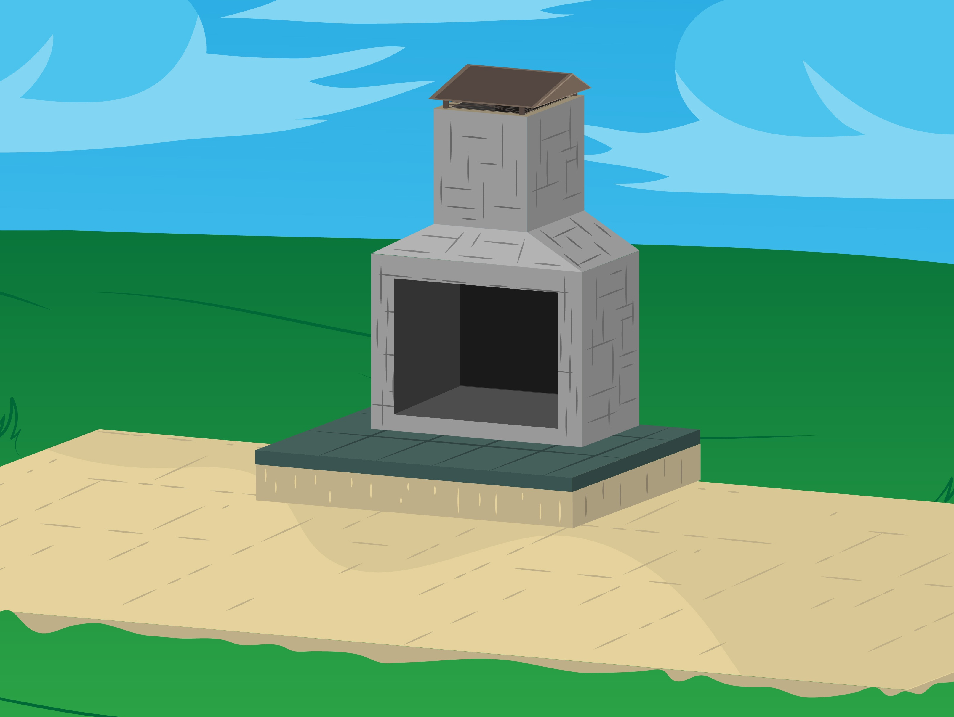 How to Build Outdoor Fireplaces (with Pictures) - wikiHow on Building Your Own Outdoor Fireplace id=53690