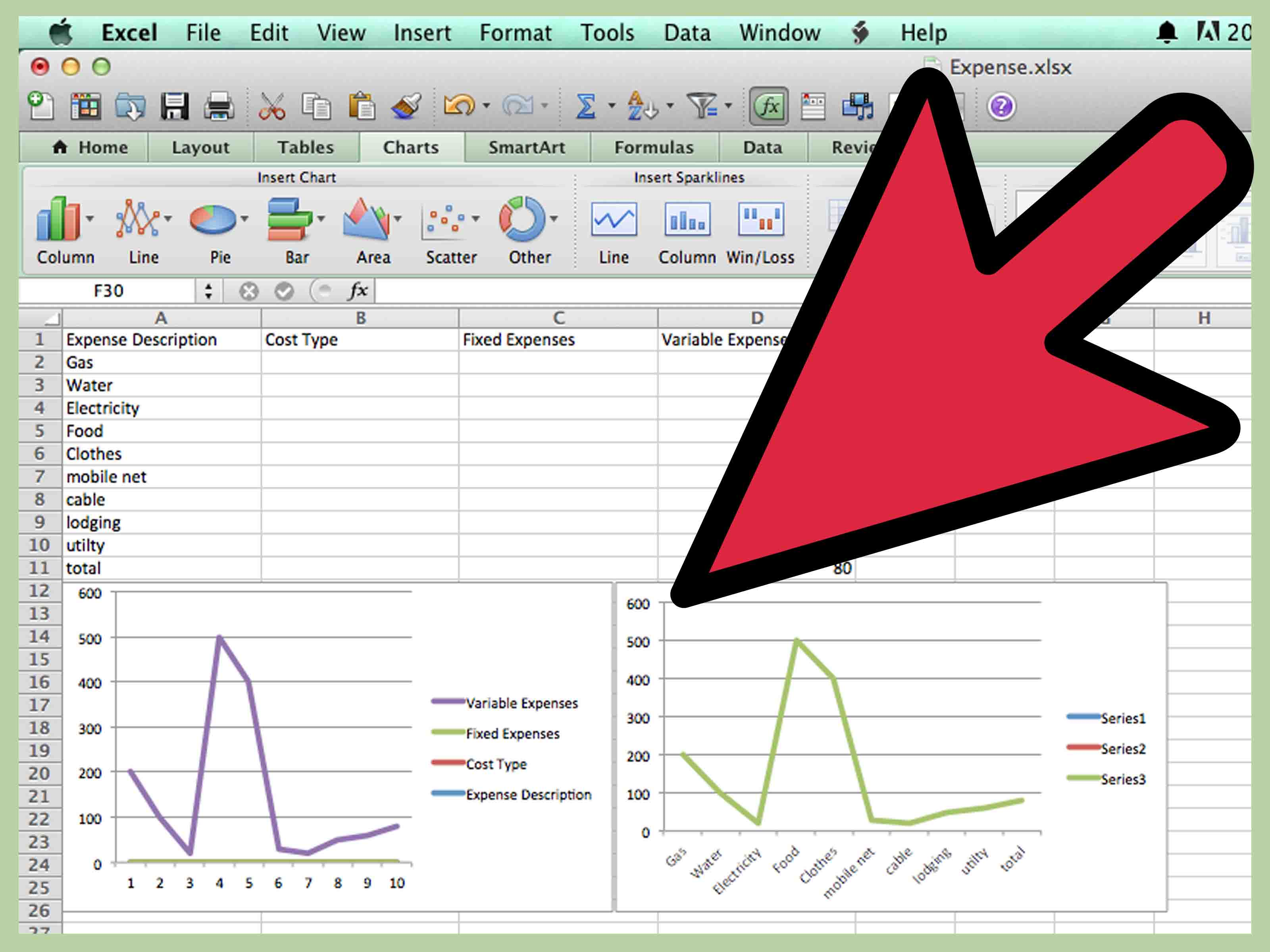 How To Do A Break Even Chart In Excel 15 Steps