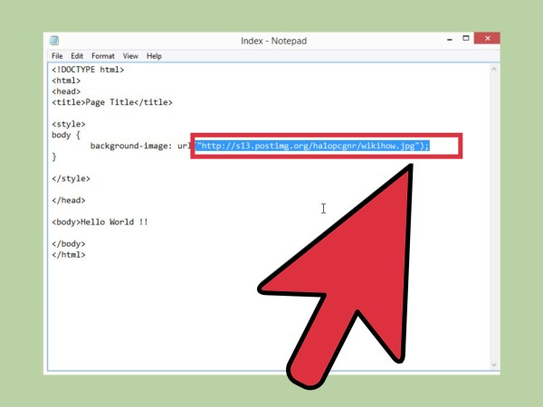 How to Set a Background Image in HTML: 13 Steps (with ...