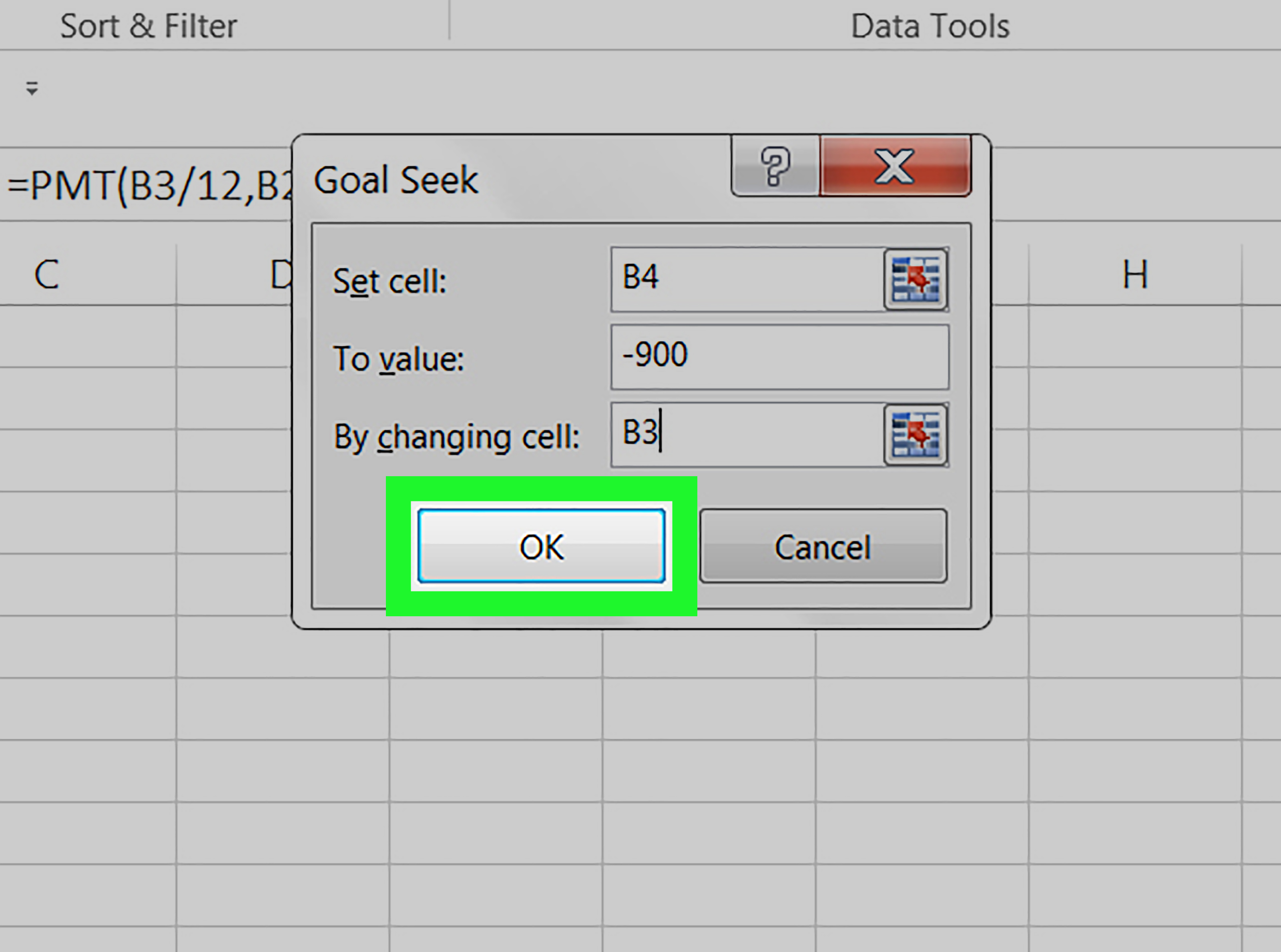 How To Use Goal Seek In Excel On Pc Or Mac 9 Steps