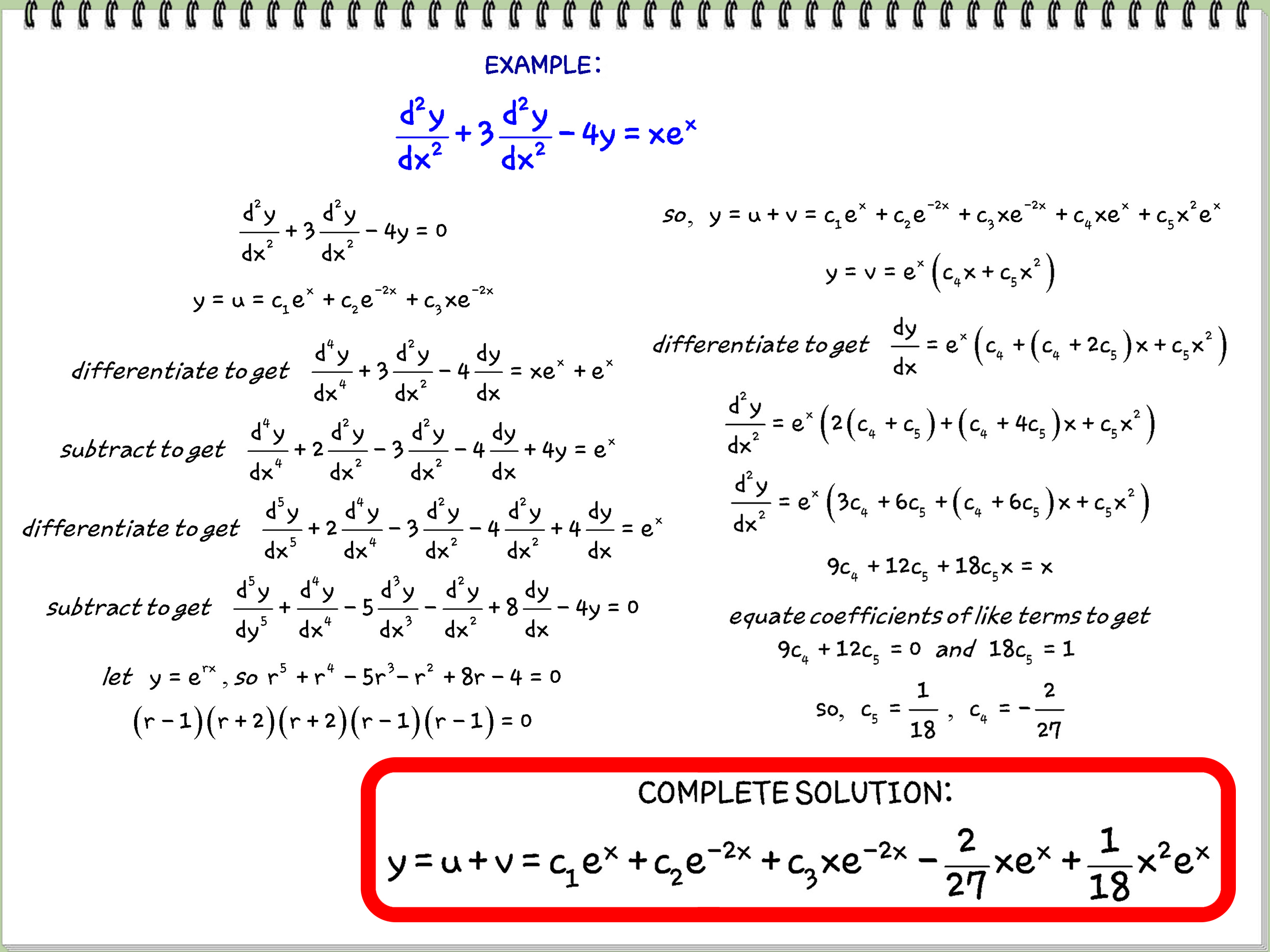 Difference Equation Solver