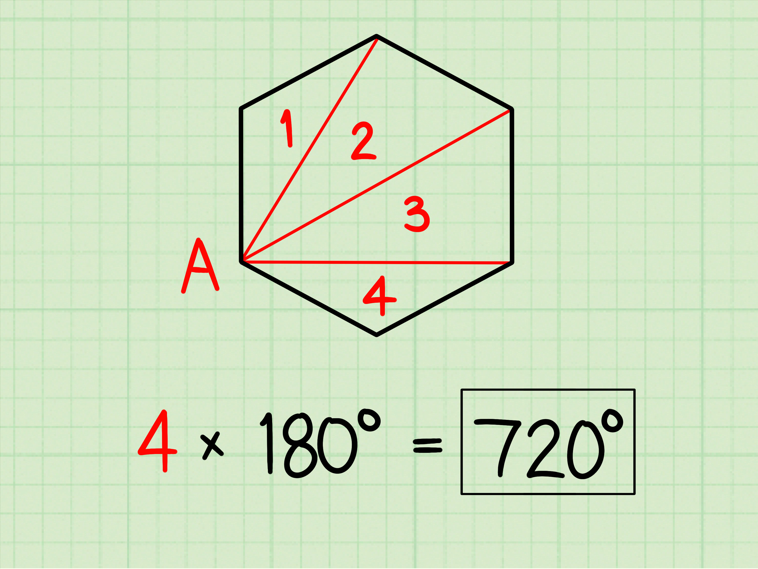 How To Calculate The Sum Of Interior Angles 8 Steps