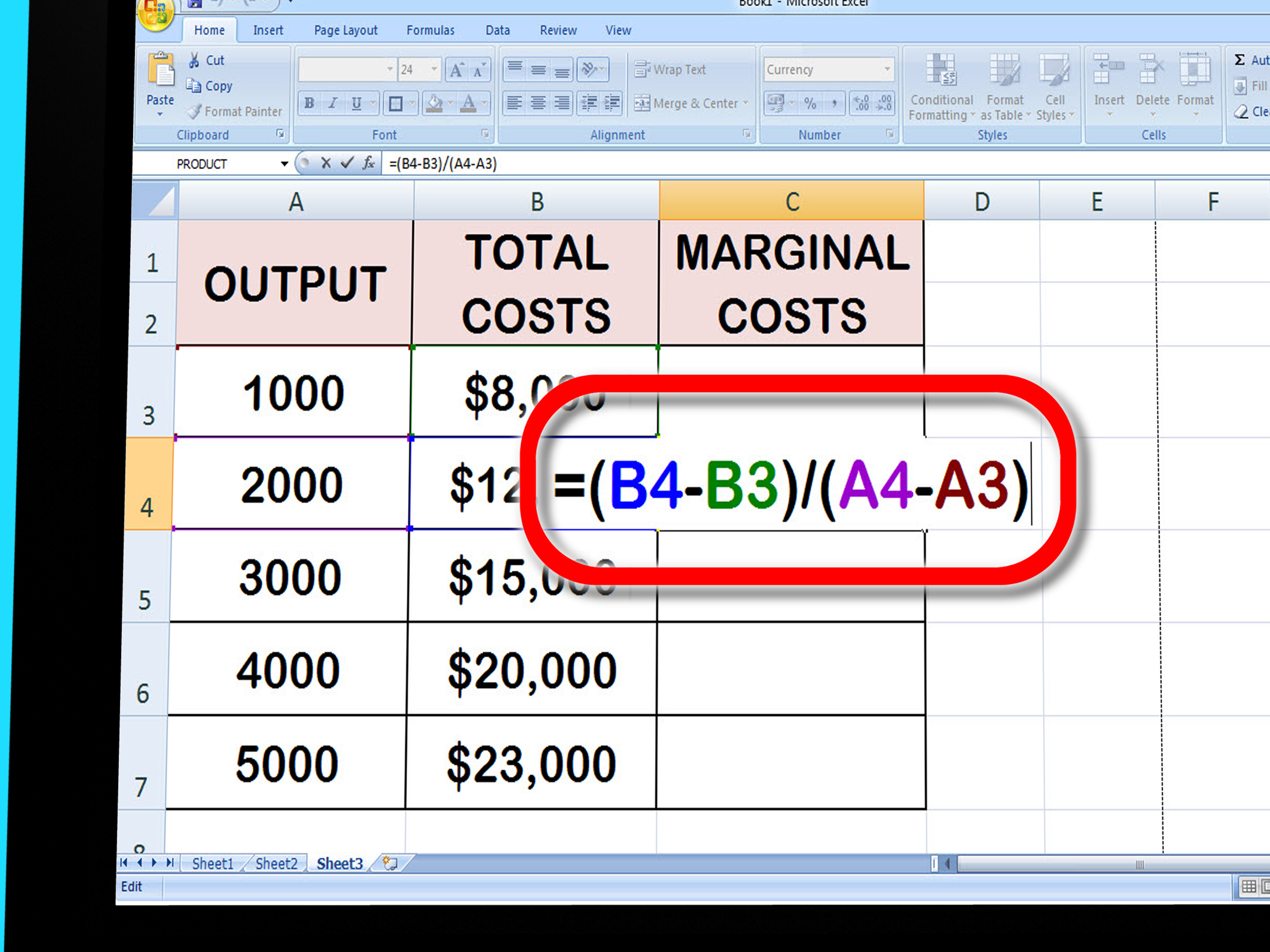Formula To Calculate Total Cost In Excel
