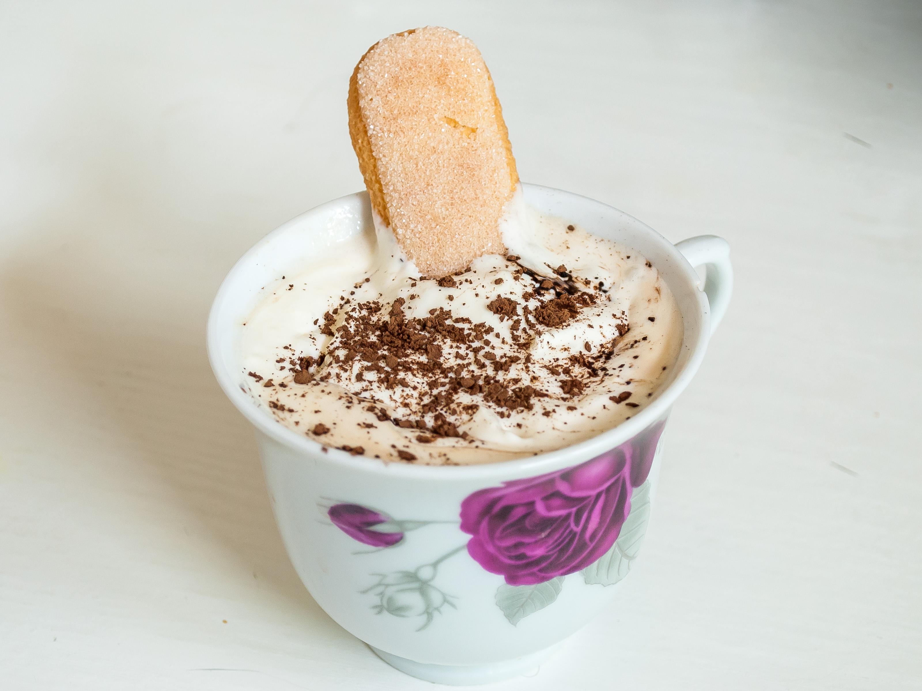 Image result for coffee and tiramisu