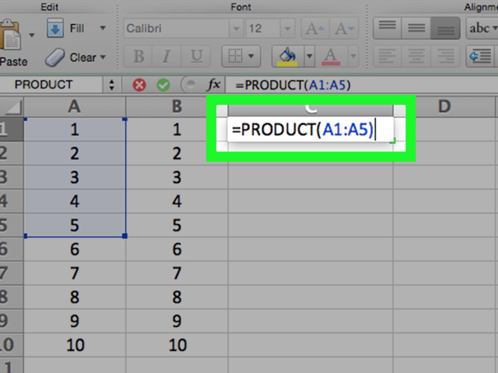 3 Formas De Multiplicar En Excel