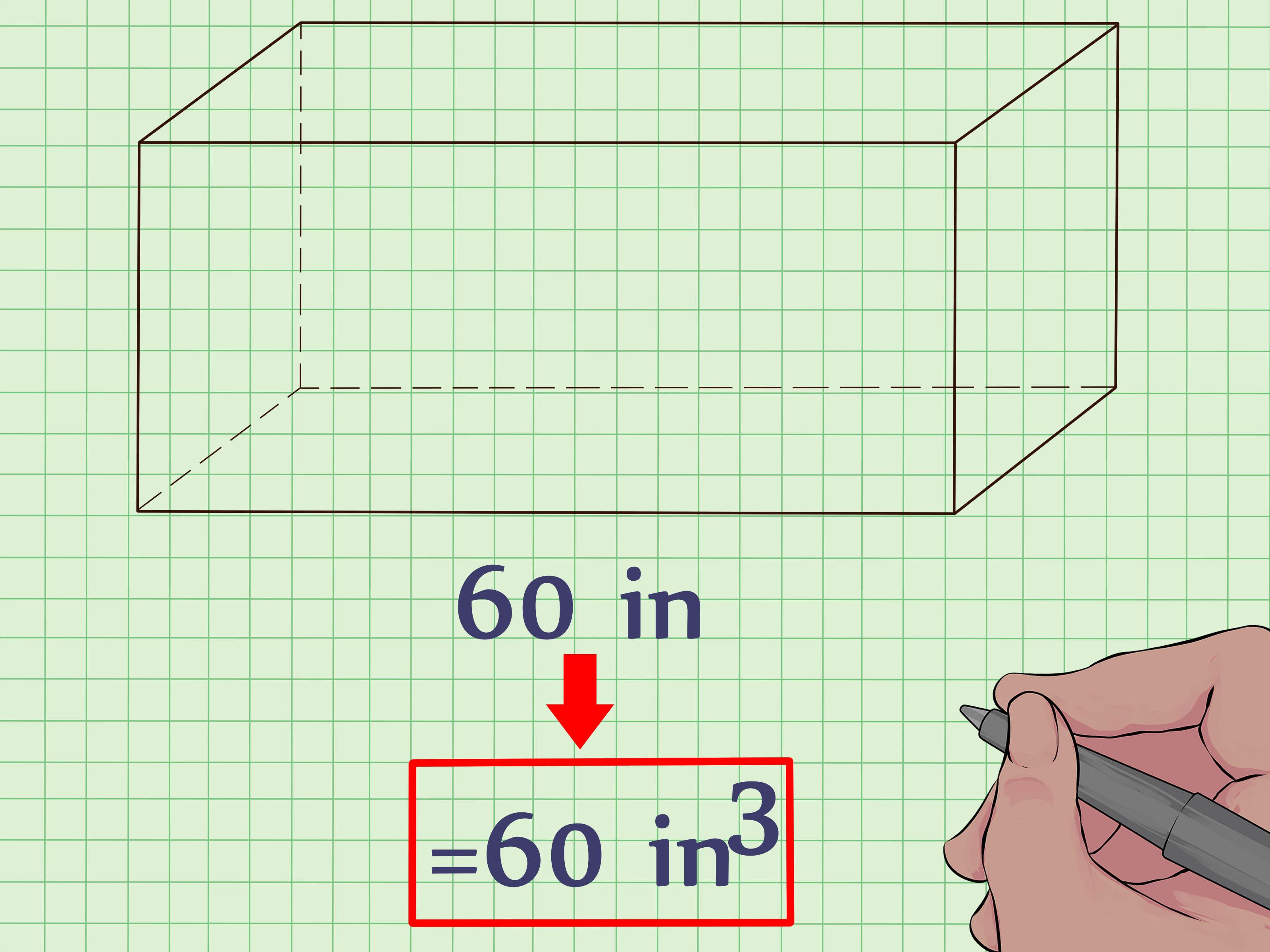 Como Calcular El Volumen De Un Prisma Rectangular