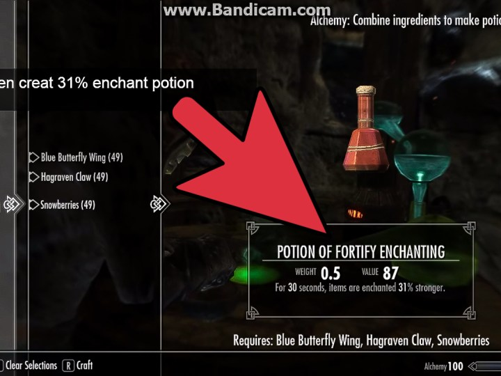 fortify smithing potion recipe | Amtrecipe co