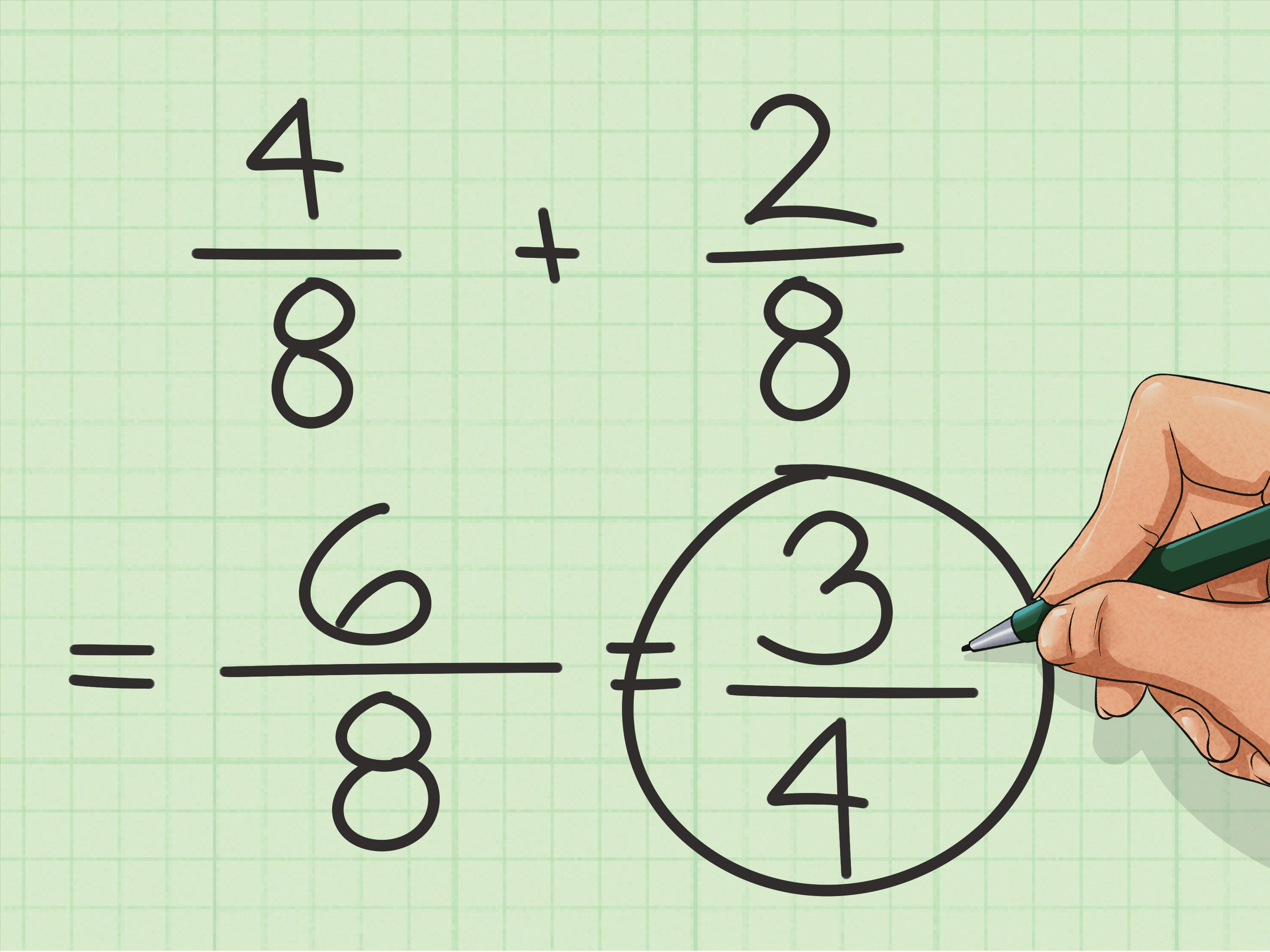 How To Add Fractions With Unlike Denominators 9 Steps