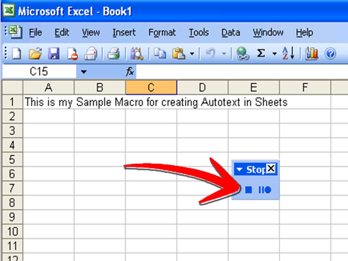 Download Writing A Macro In Excel