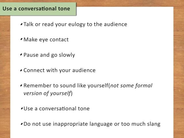 24 Ways to Write a Eulogy - wikiHow